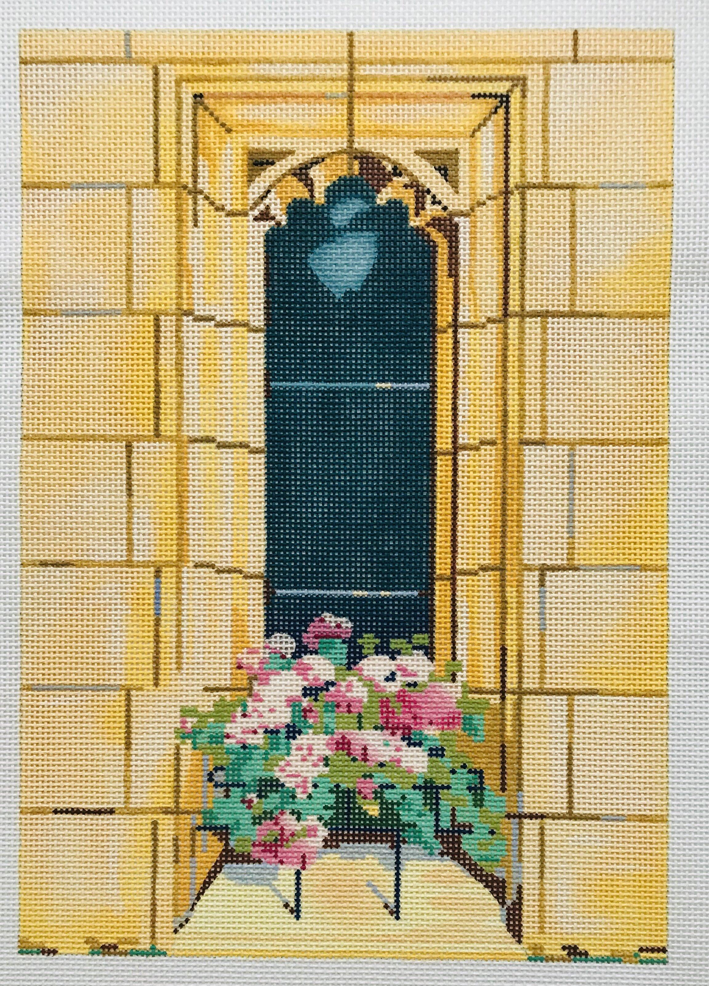 "Catherine's Window AL1   6.75"" x 9.5"" on 18 mesh"