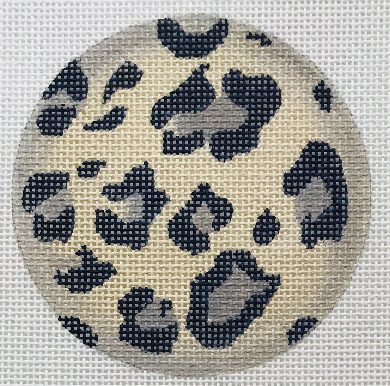 """Snow Leopard Round ALSC-1   3"""" round on 18 mesh"""