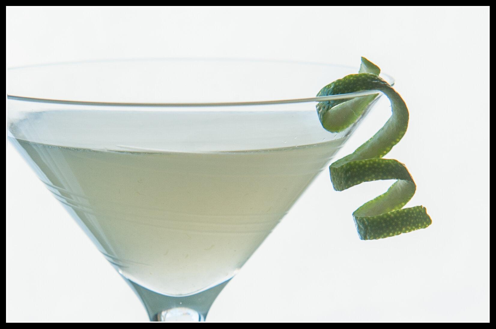 KAMIKAZE cocktail - 1.5 oz Glacial Lakes Vodka 1.5 oz Fresh lime Juice1.5 oz Triple SecShakeServe in chilled martini glassGarnish lime twist