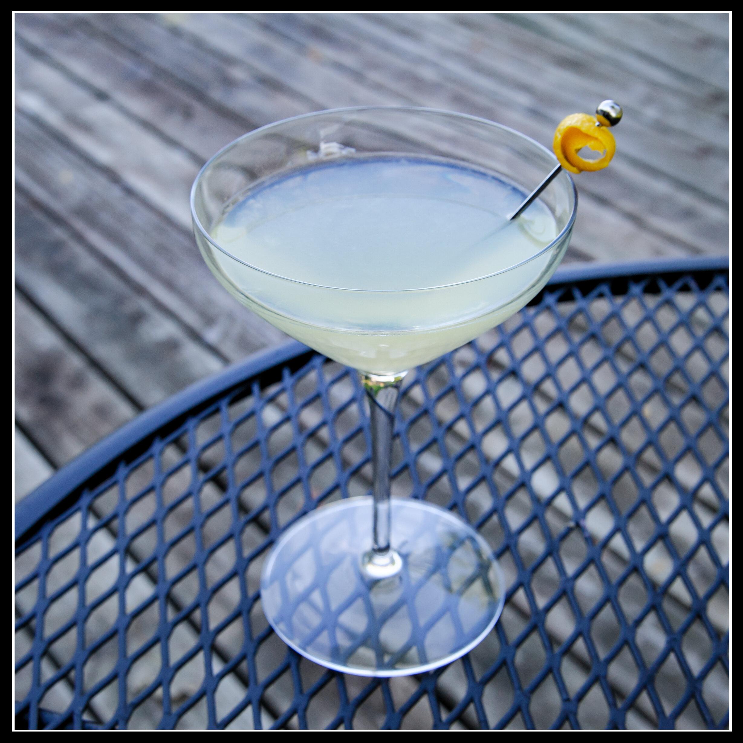 limoncello gin martini - 1.5 Stony Point Gin 1.5 Limoncello0.5 fresh lemon juice0.5 simple syrupShake on iceMartini glass, garnish with lemon peel
