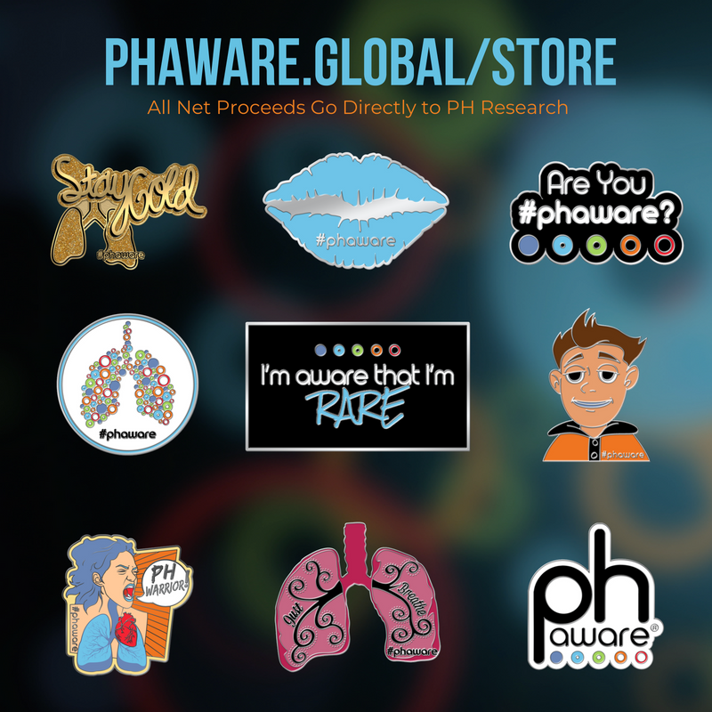 Donate for #phaware pins, earbuds, PopSockets & more