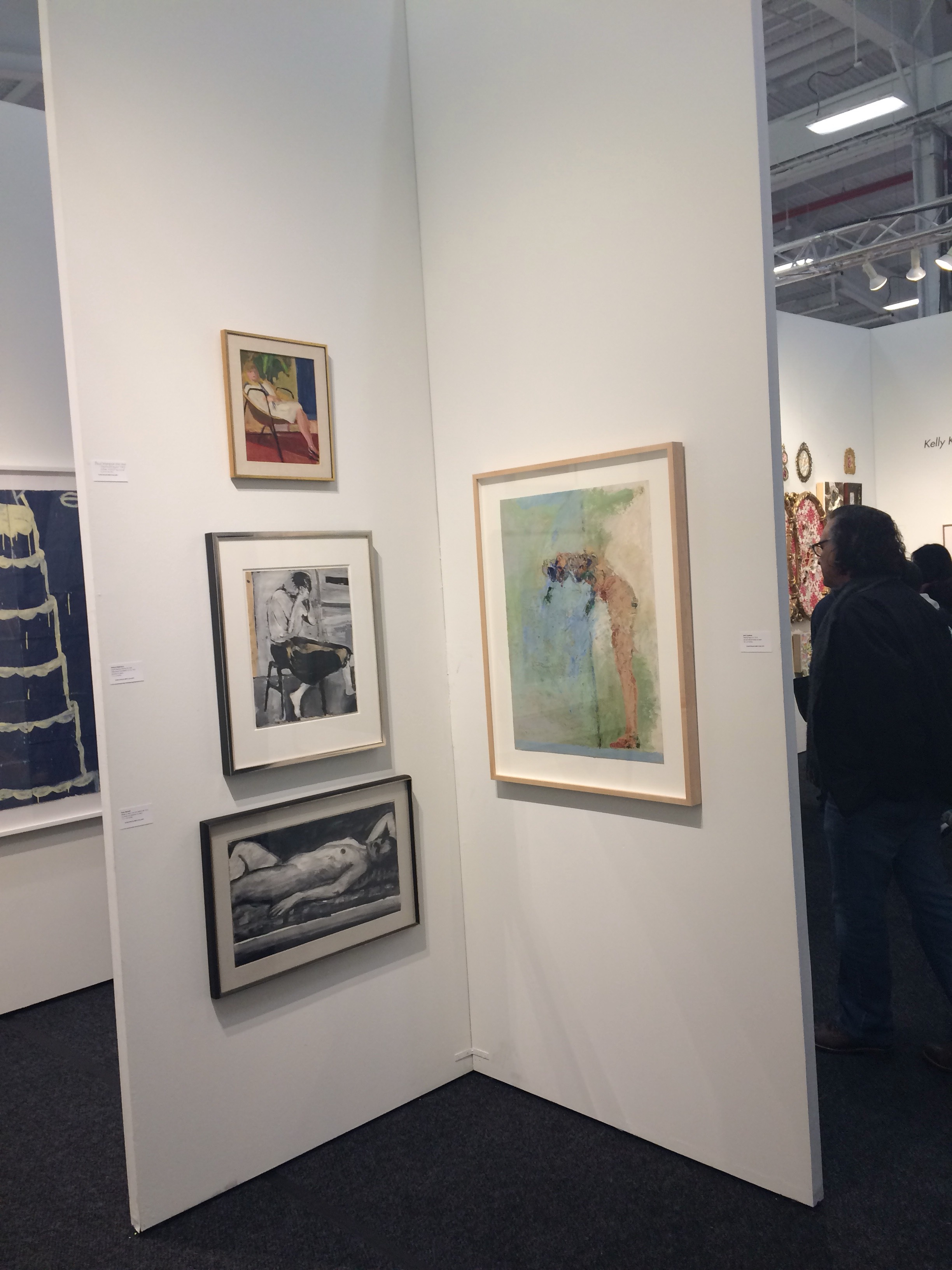 Art On PaperMARCH 2 - 52017 - Elins Eagles-Smith Gallery exhibiting atArt on Paper located at downtown Manhattan's Pier 36 March 2 - 5, 2017.An ArtMRKT production, Art on Paper's medium-driven focus lends itself to significant projects - unique moments that have set the fair apart and established a new and important destination for the arts in New York City.