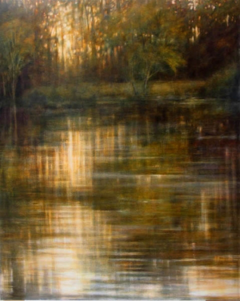 Tom Monaghan    Lake Shore Reflections ,  2007  Oil on canvas 60 x 48 inches  $10,000 Offered at: $7,500      I'm Interested!