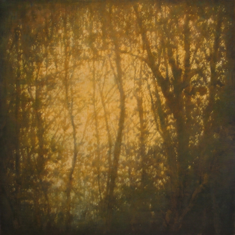 Tom Monaghan    The Shore Path (Dusk) ,  2011  Oil on canvas  48 x 48 inches  $8,500 Offered at: $6,250      I'm Interested!