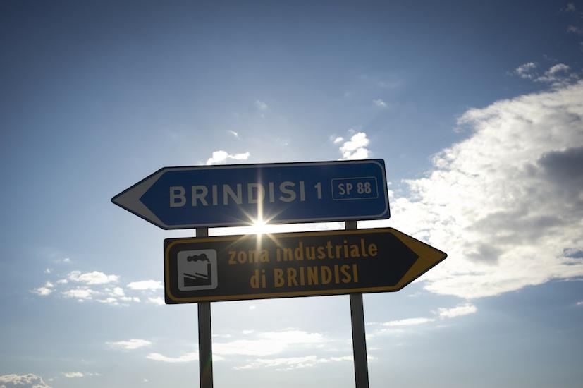 1 km è la distanza che separa Brindisi dalla sua zona industriale.