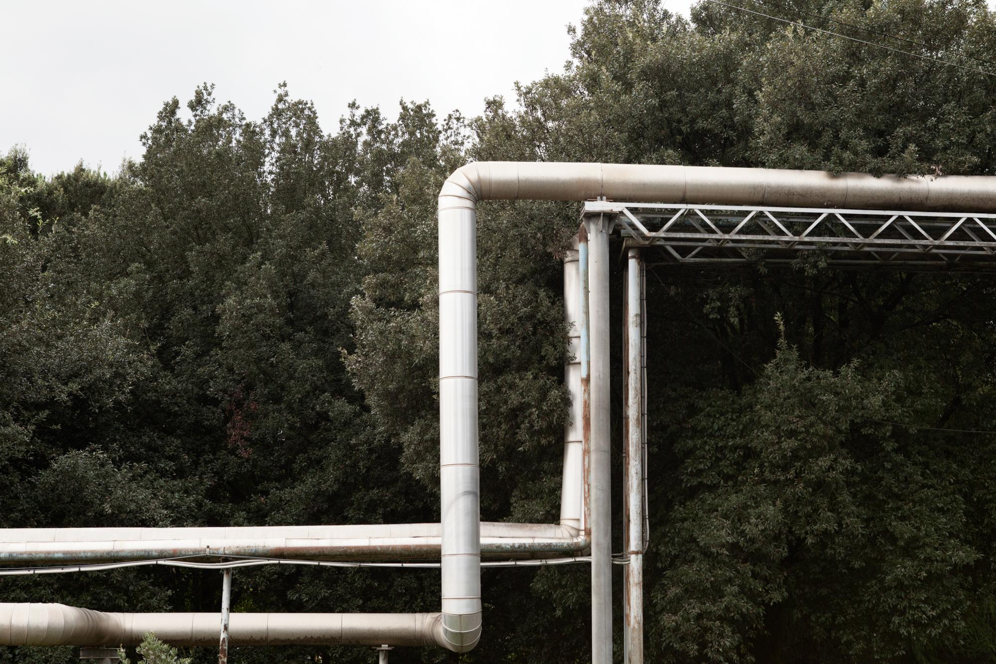 Strutture industriali appartenenti alla società BPD, operante nell'industria bellica.Colleferro, novembre 2013