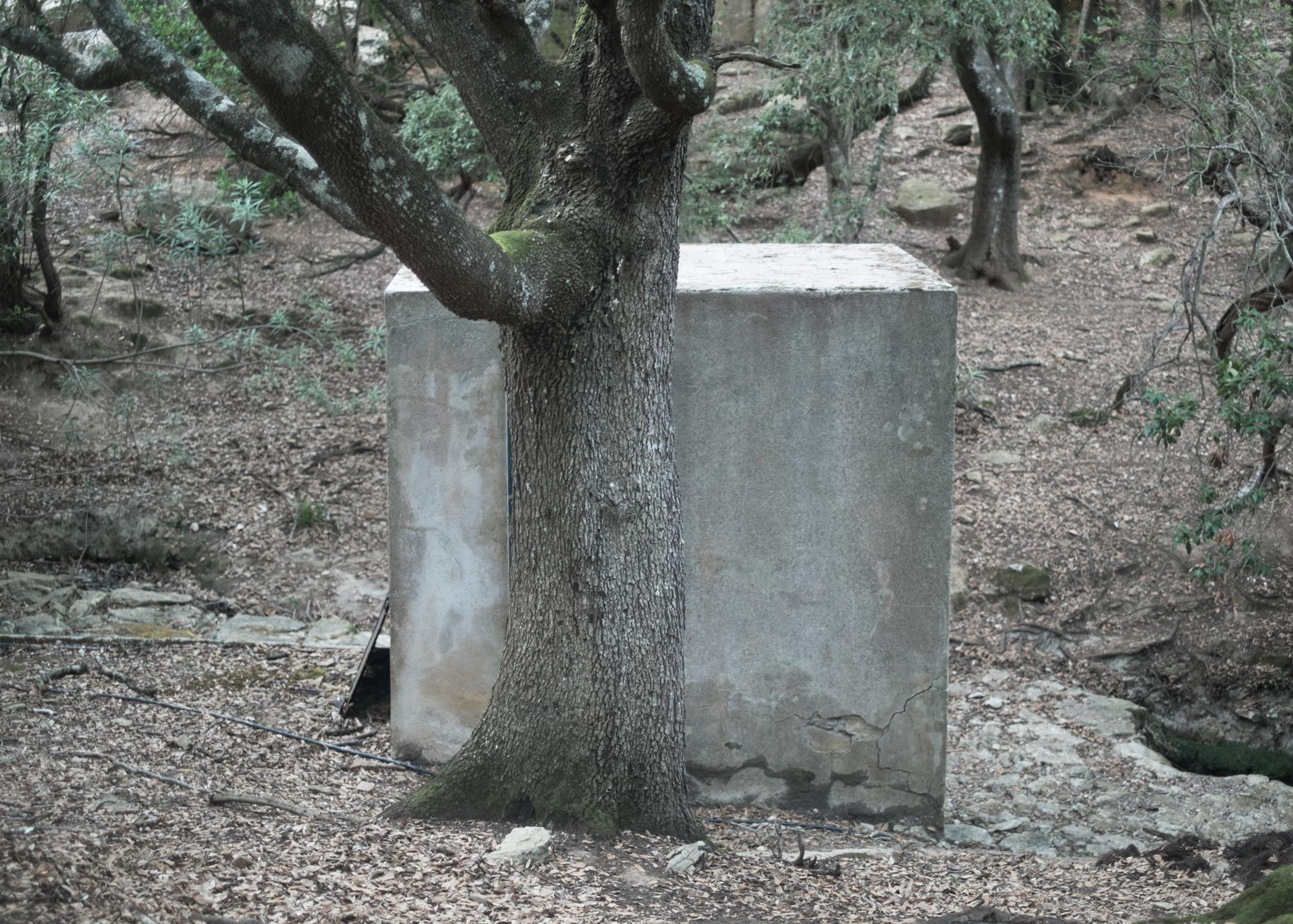 Acquedotto, Sa Maista, comune di Villaputzu, poligono a terra.