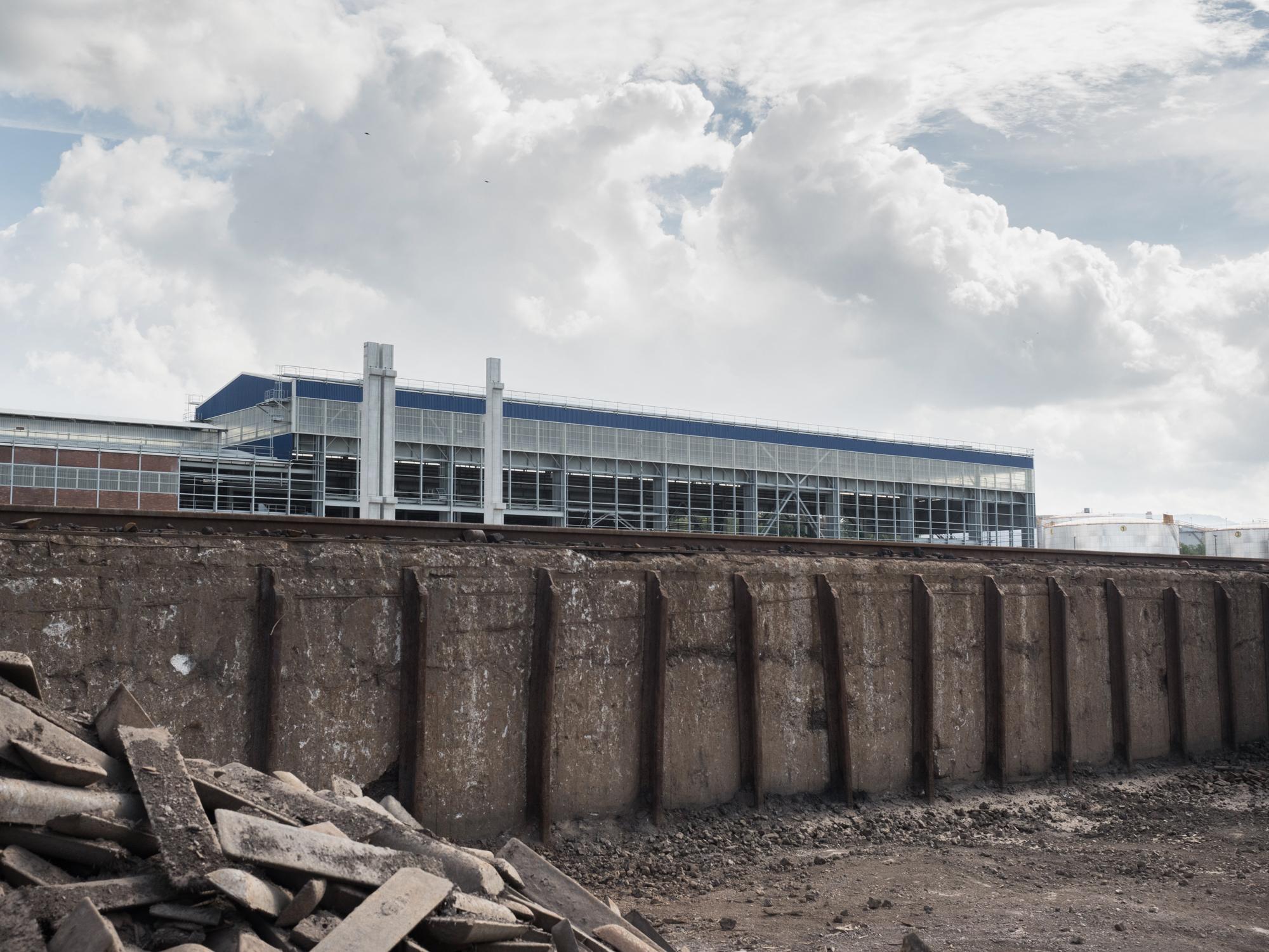 Il nuovo laminatoio a freddo dell'impianto siderurgico della Ferriera di Servola sarà operativo dal 2016 con un investimento complessivo di 170 milioni di euro, Trieste 2015.
