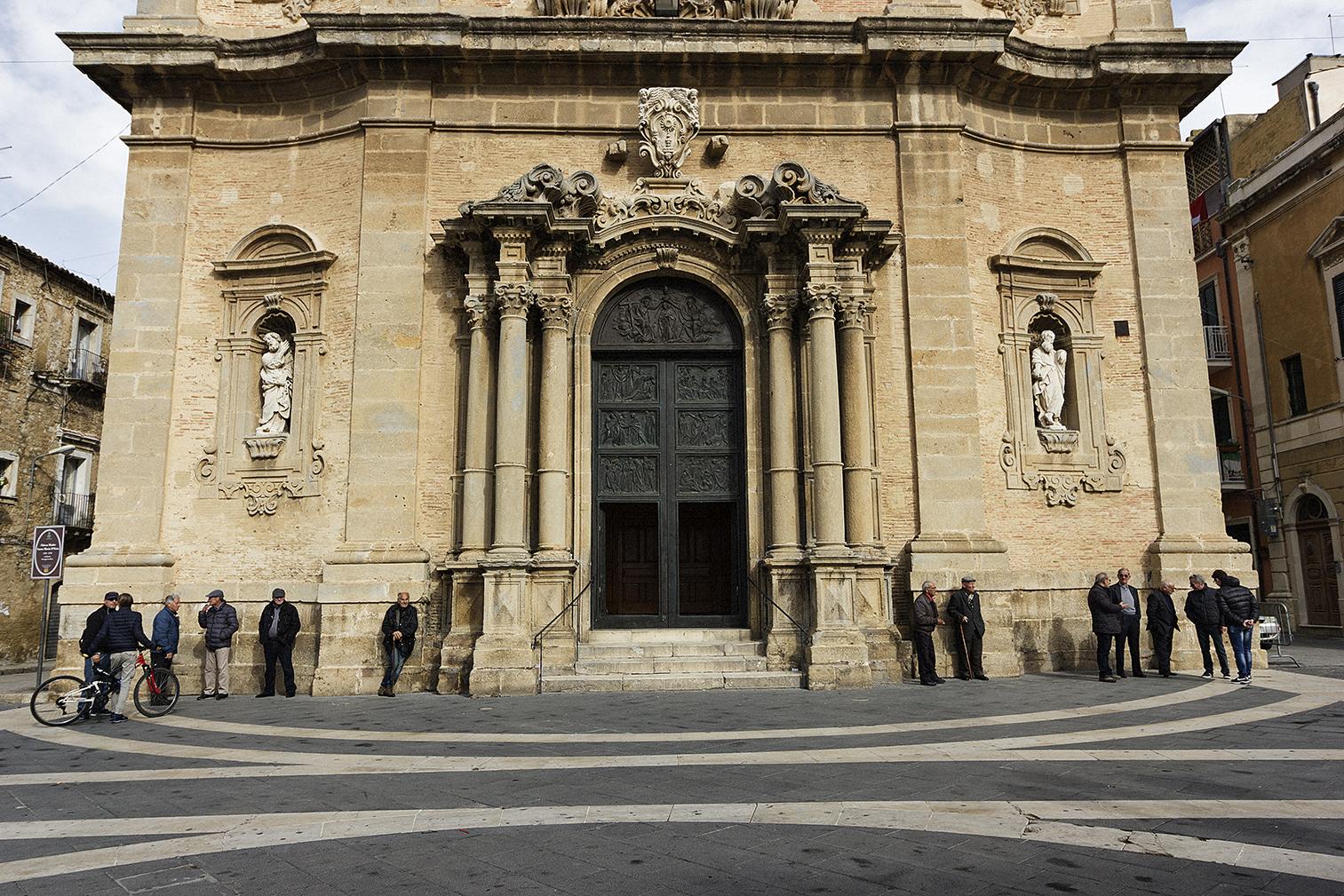 Niscemi (CL), Novembre 2017. Chiesa di Santa Maria D'Itria, presso la piazza principale di Niscemi, piazza Vittorio Emanuele III. © Chiara Faggionato
