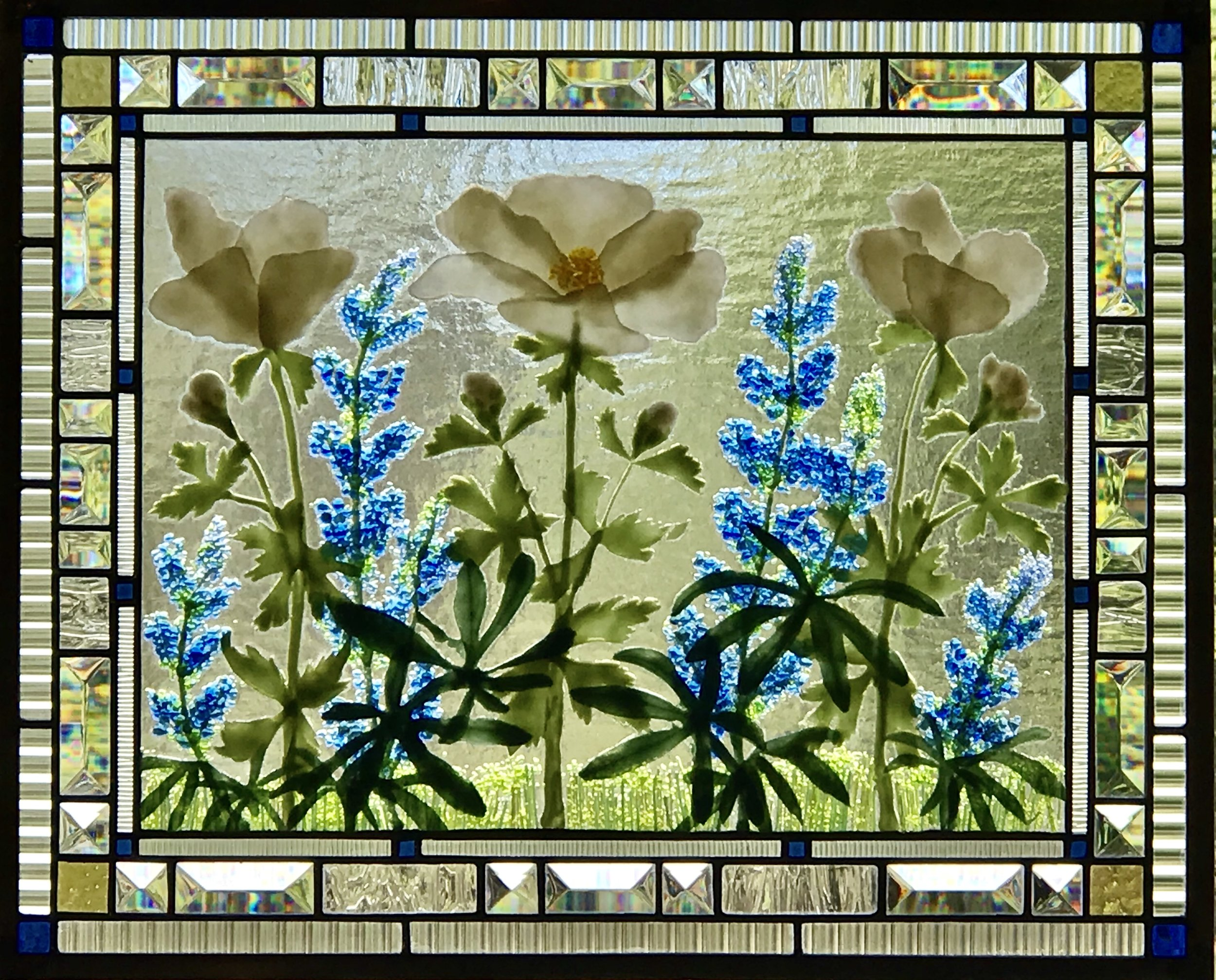 White Anemones and blue Lupines.jpg