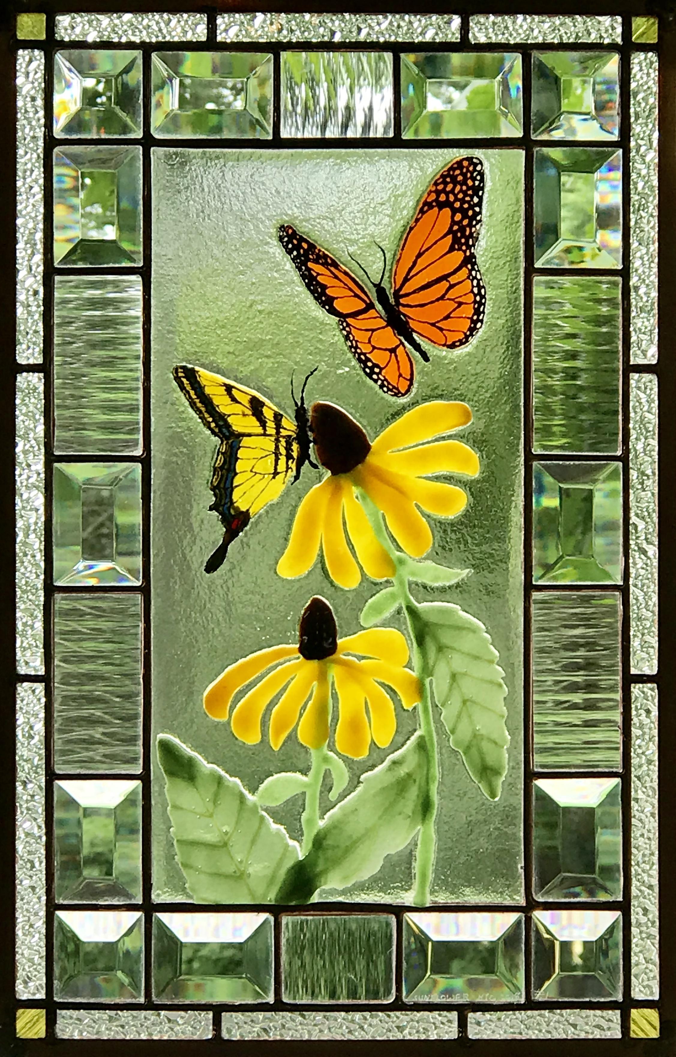 Butterflies and Black-eyed Susans.jpg