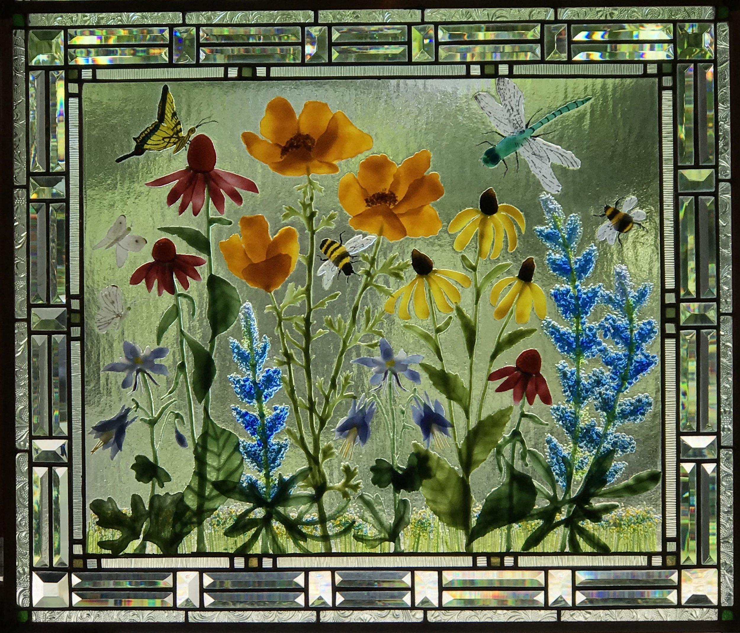 Pollinators flower garden