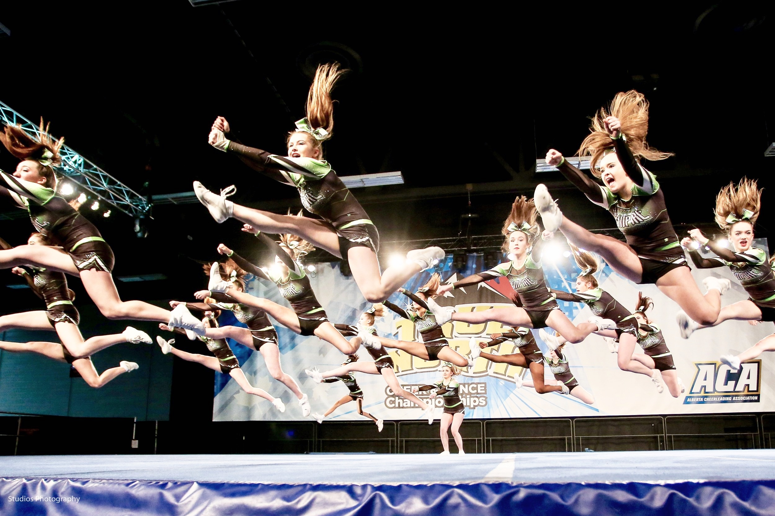 Our Vision… A Shared Ambition - To be the most progressive and innovative cheerleading organization.