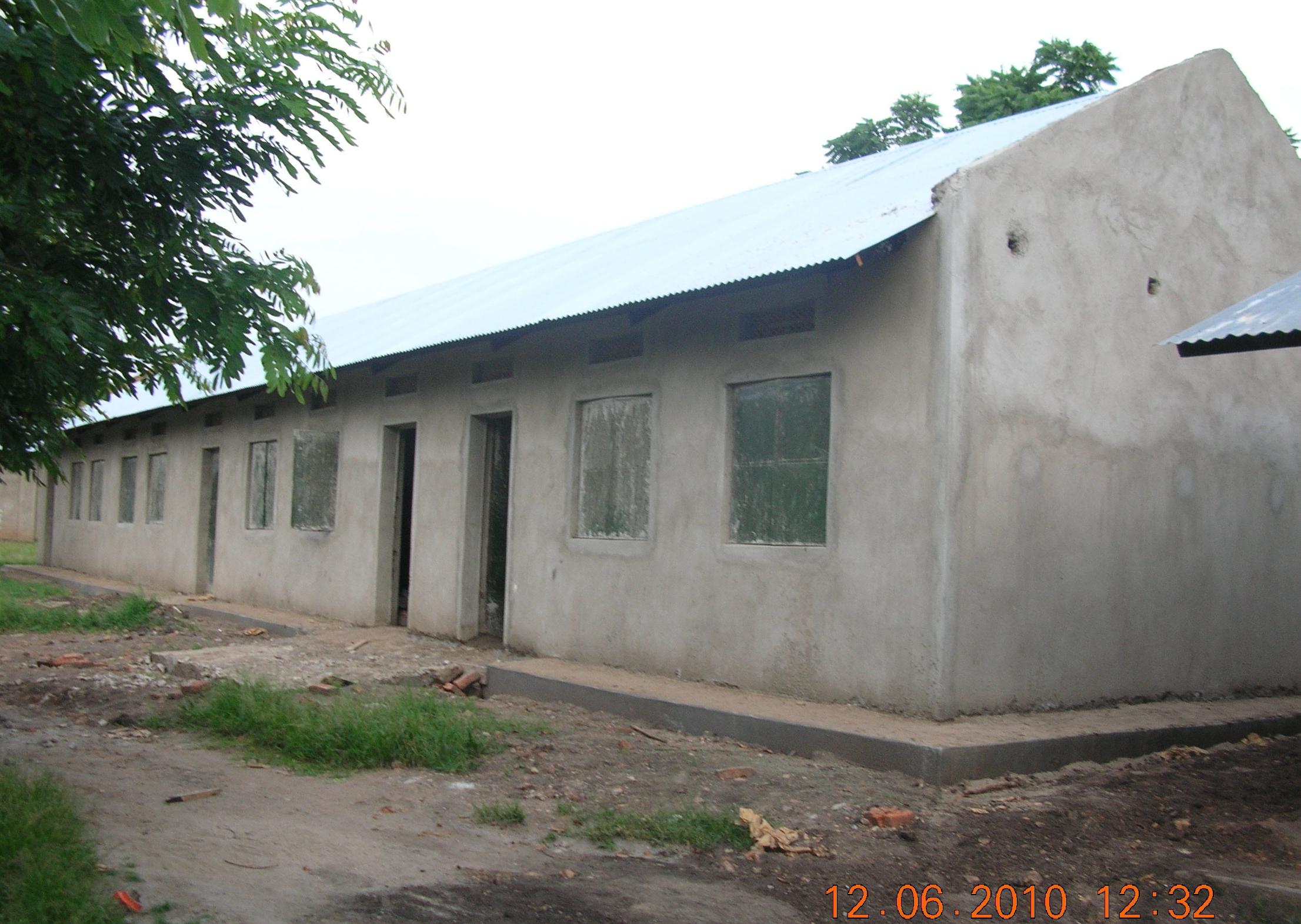 Second classroom block 2010
