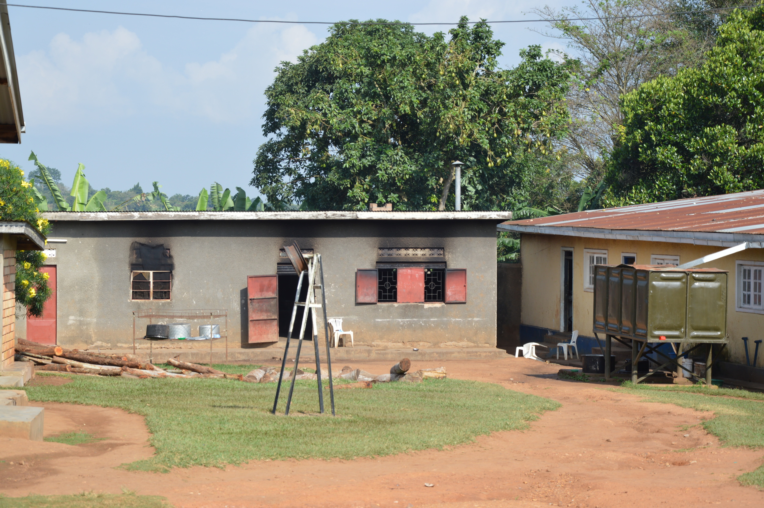 Some existing buildings used for classes