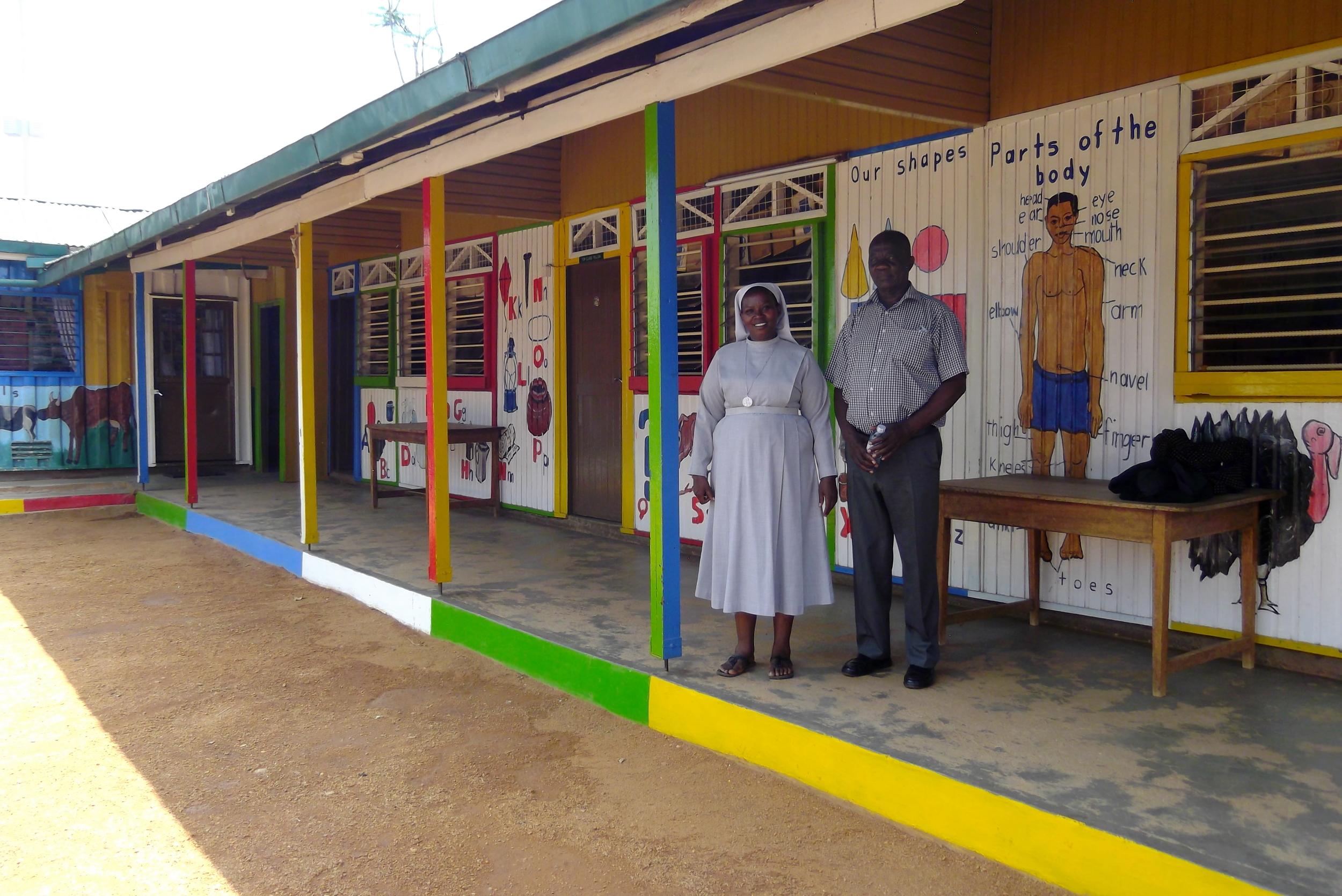 Principal, Sister Agnes and Board Chairman