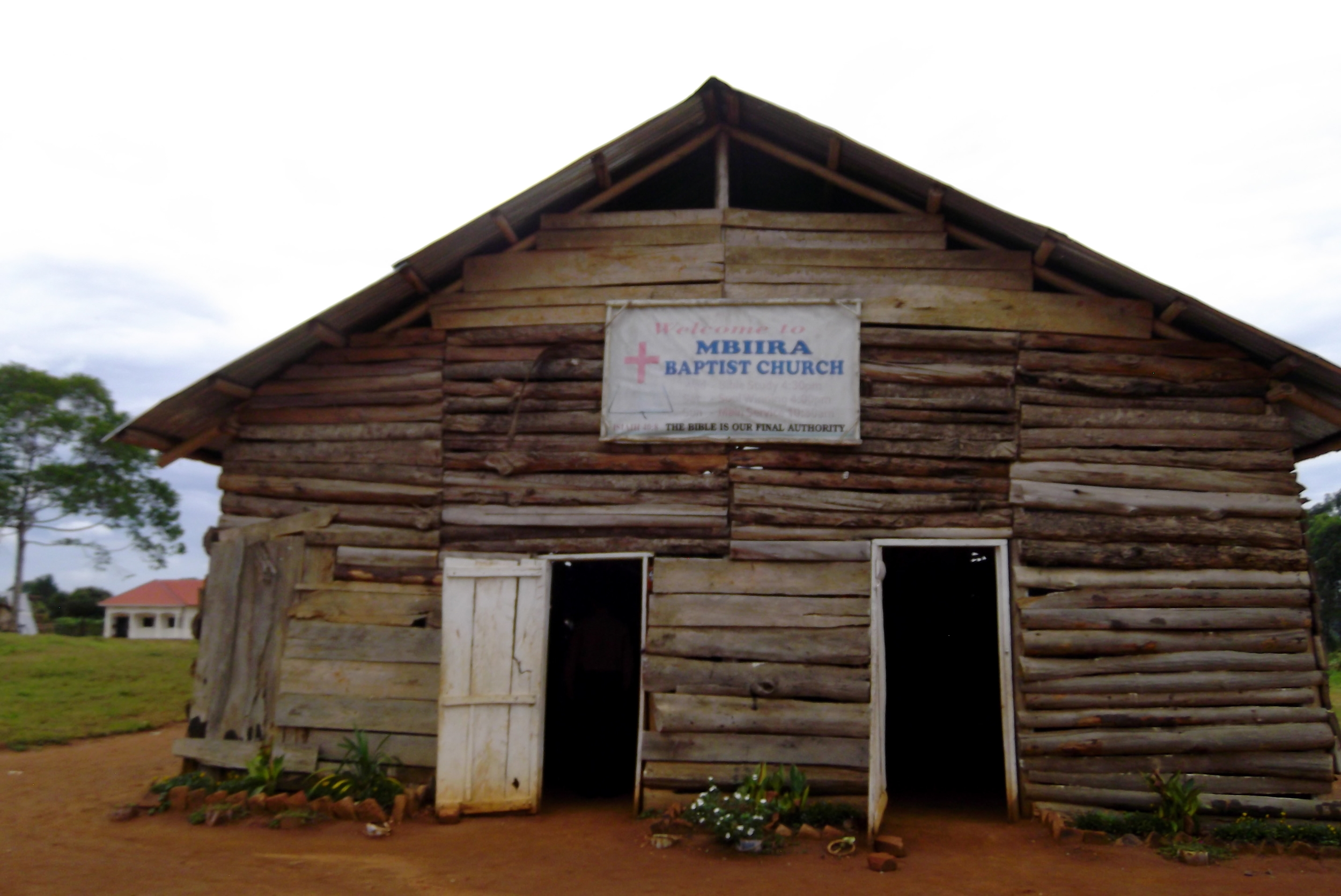 Mbira church where the GRACE project is located