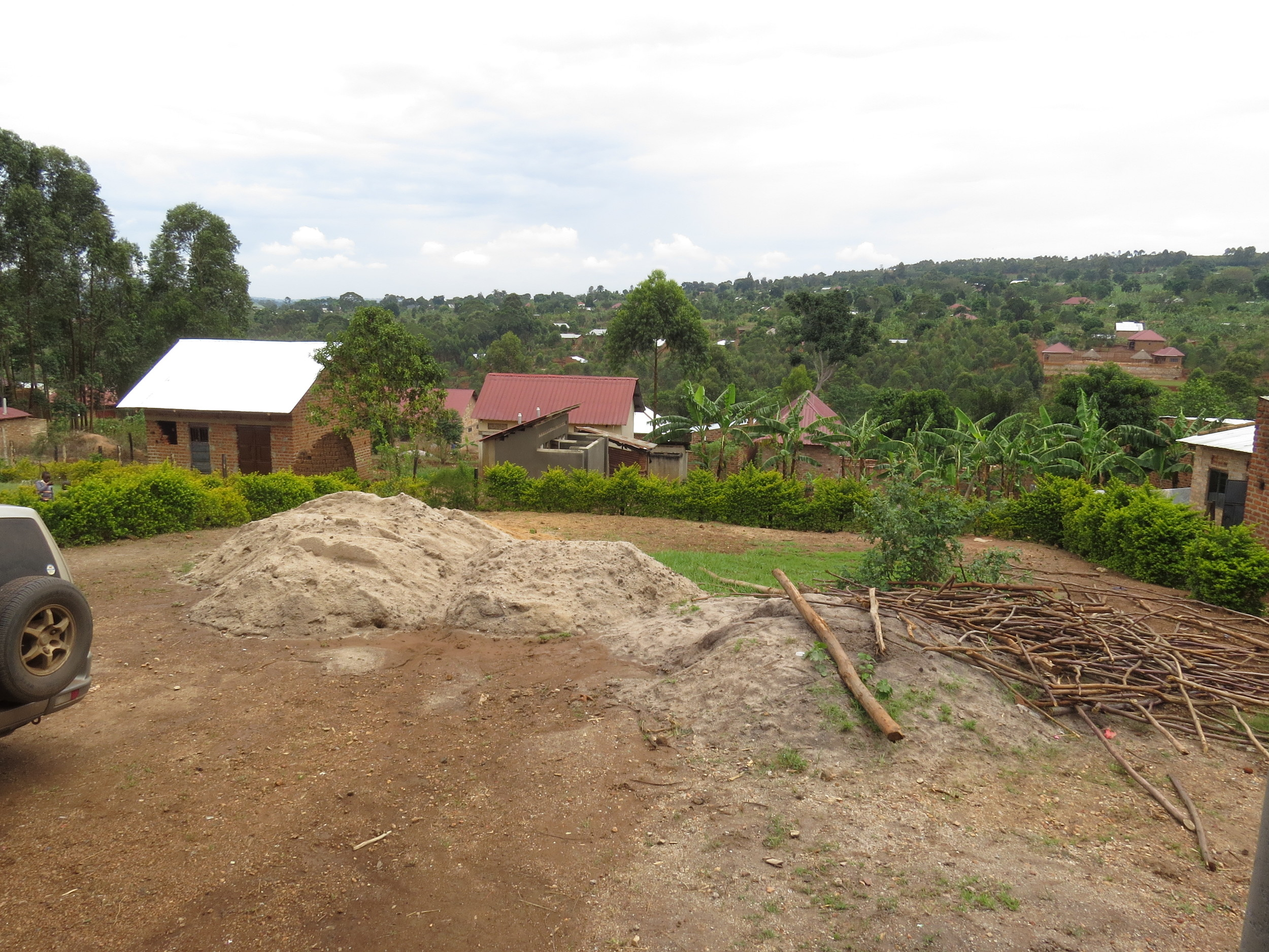 Land on which more classrooms are planned