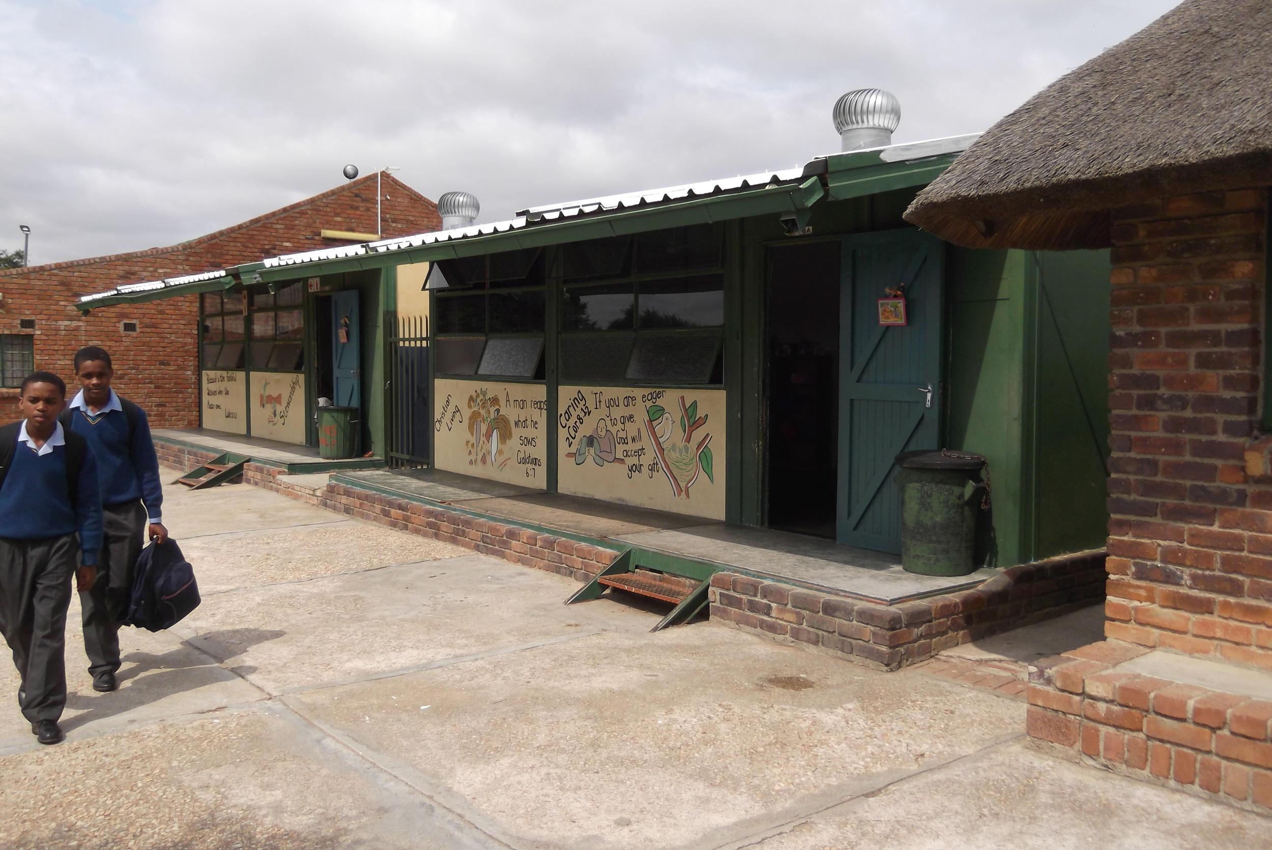 Old asbestos classrooms