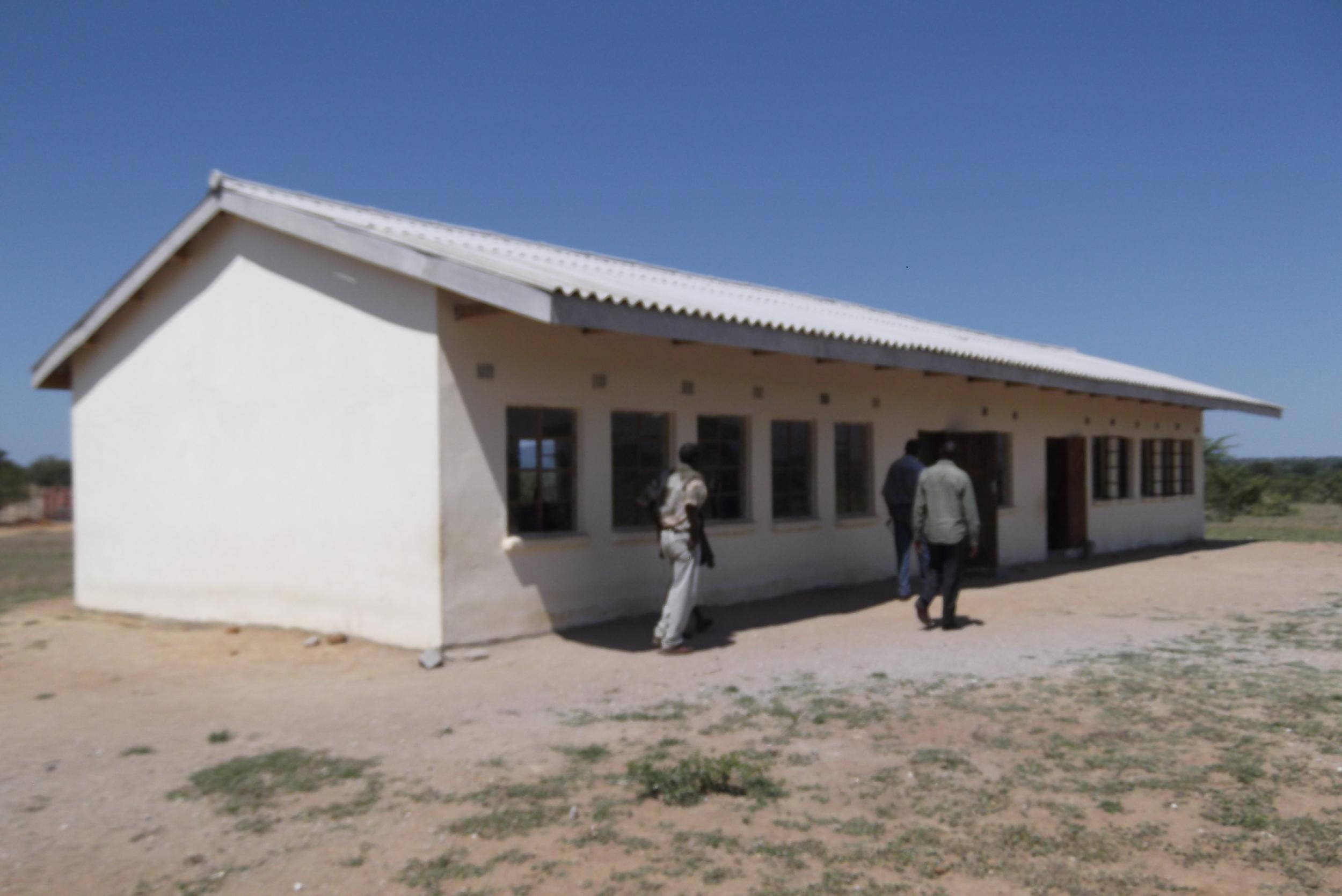New four-classroom block built 2011