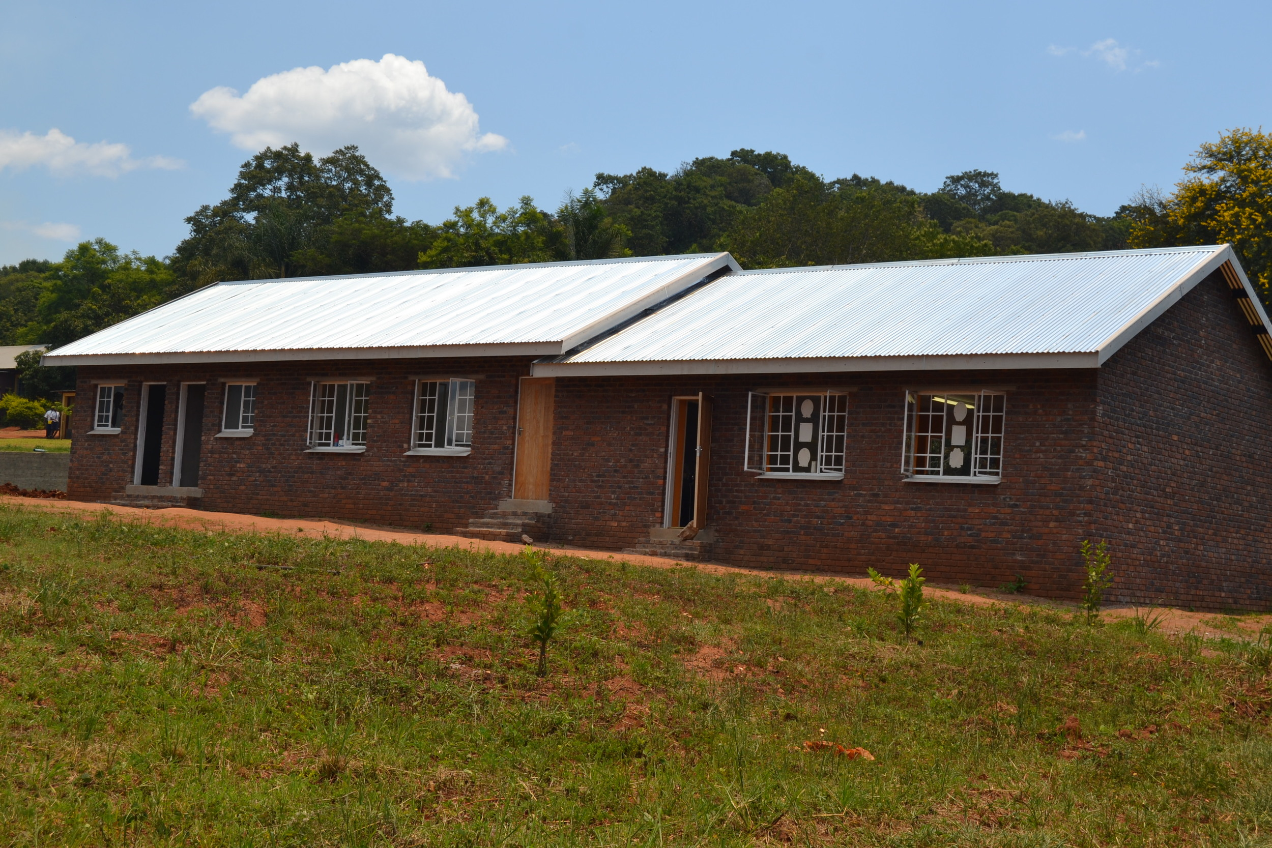 First two classrooms of four needed - built 2014