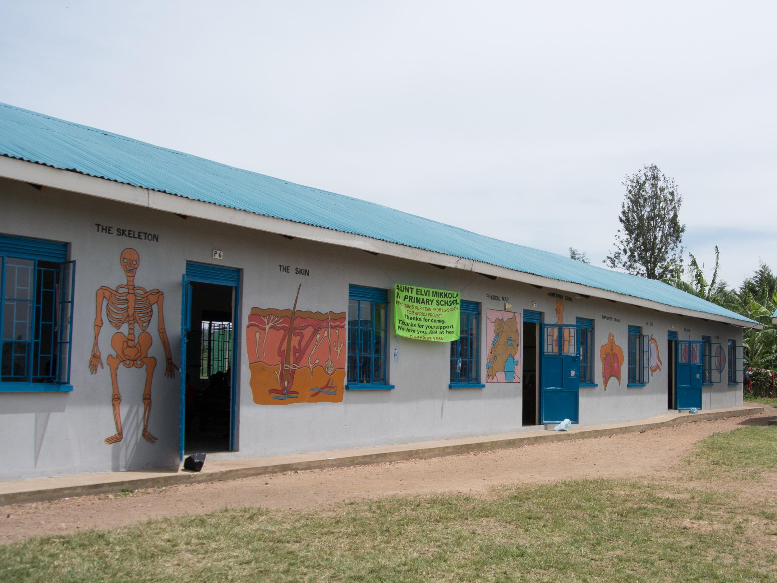 First classrooms block - 2011