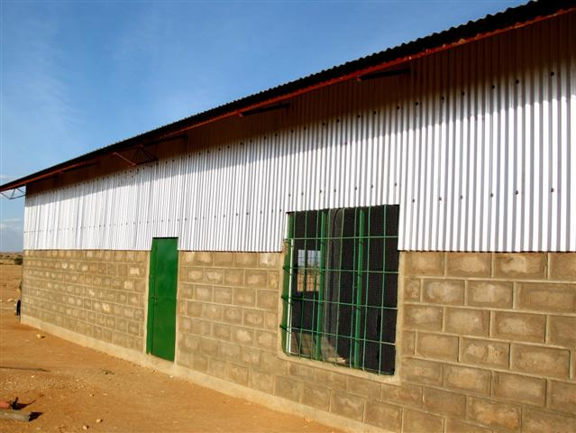 New school building - multipurpose hall - 2010