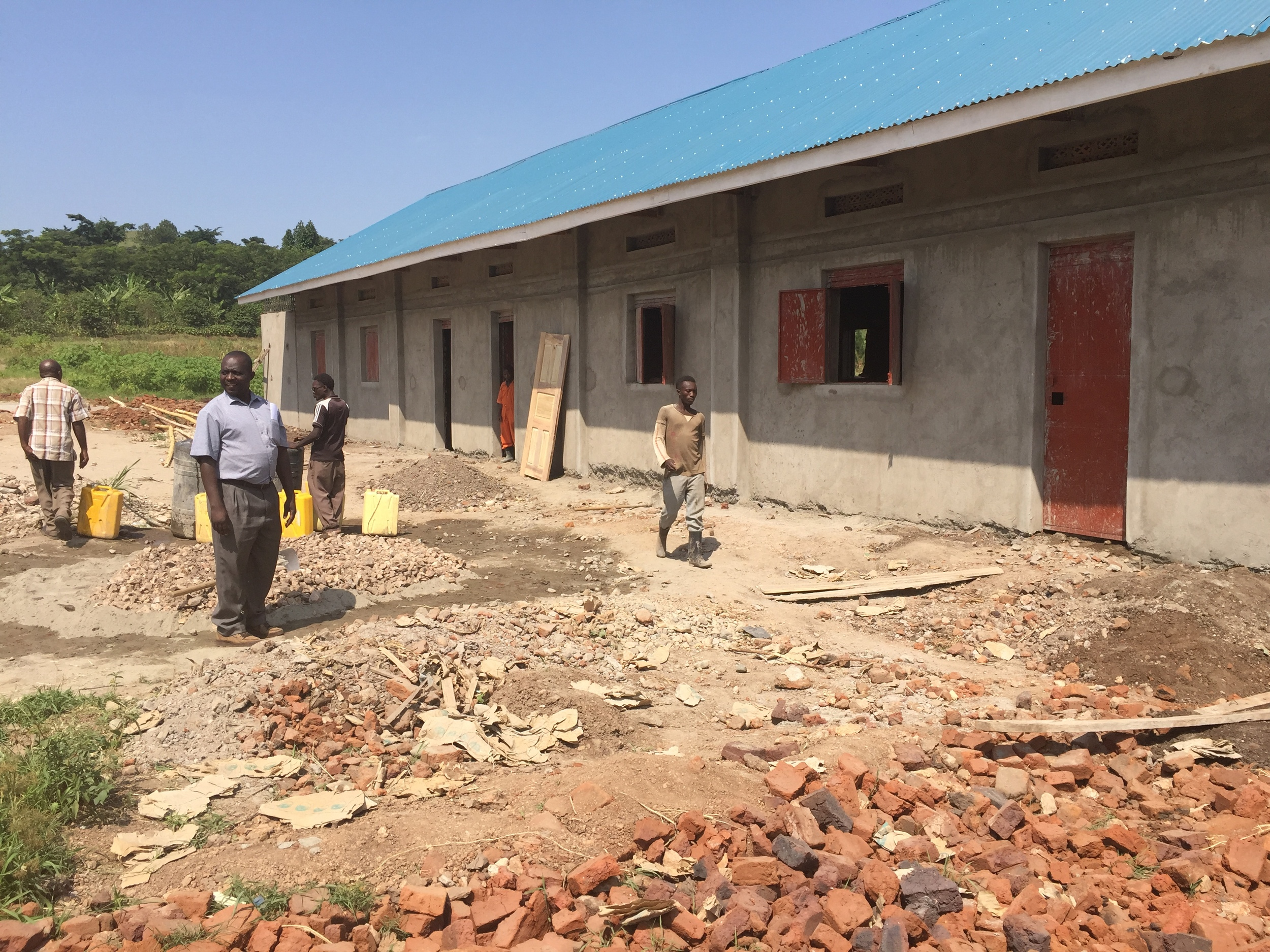 Girl's dormitory completing soon