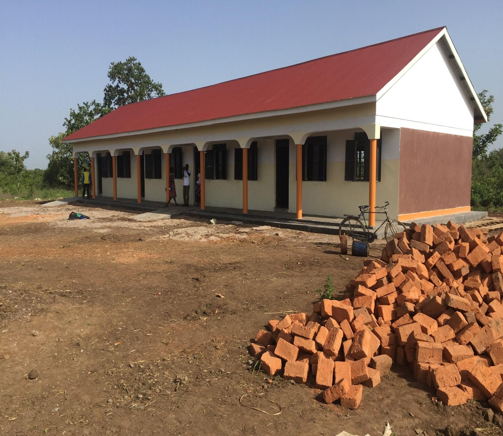 Second classroom block