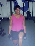 """""""Yes.......Lunges! Great for my Legs, Butt, and Hips. Working with Joe, has helped me decrease my body fat and my jeans fit better now. We laugh & have a good time too.""""      - Jodi R."""