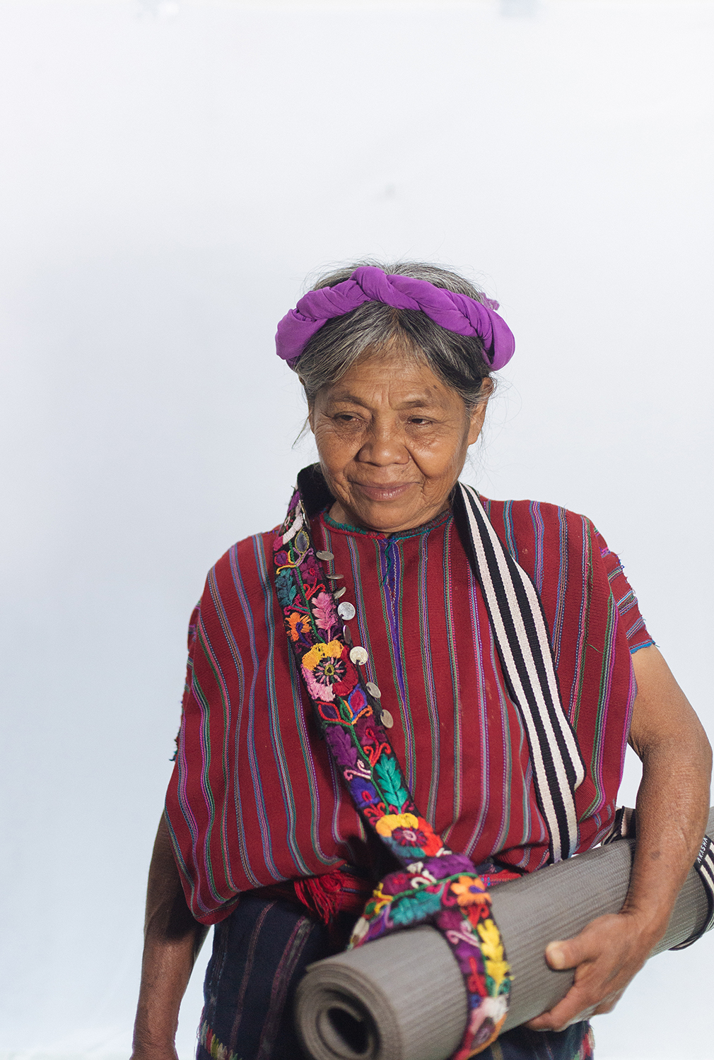 Chenti's mama modelling one of our straps