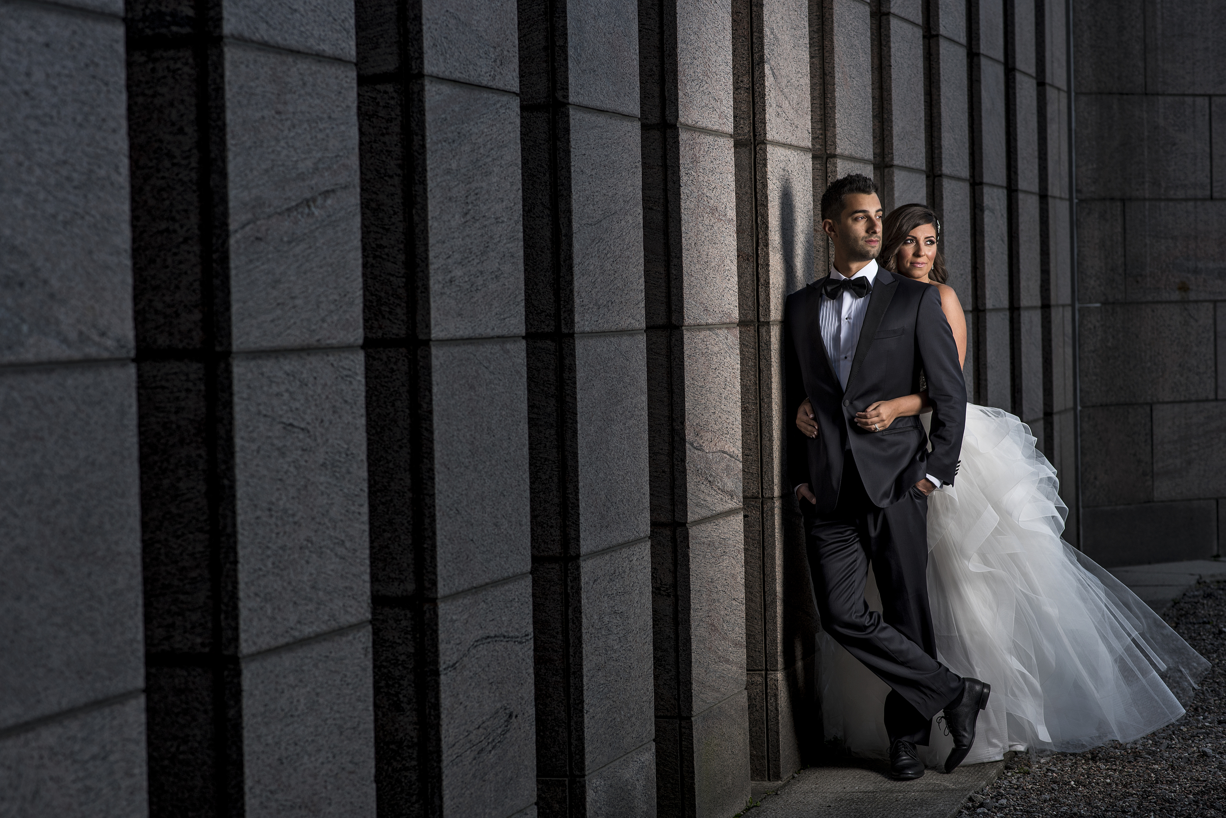 Wedding photograph at the National Art Gallery