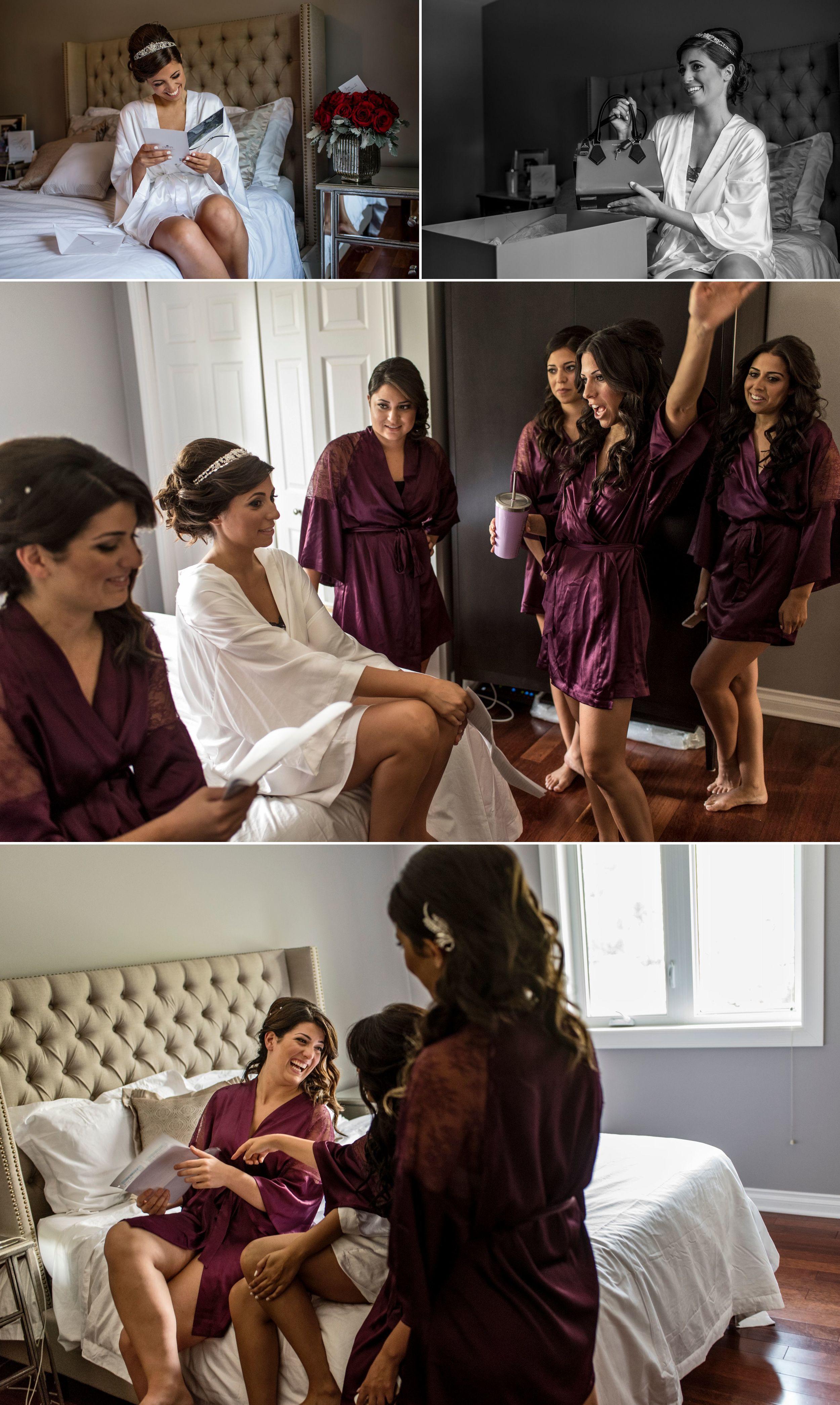 Getting ready for a luxury wedding in Ottawa