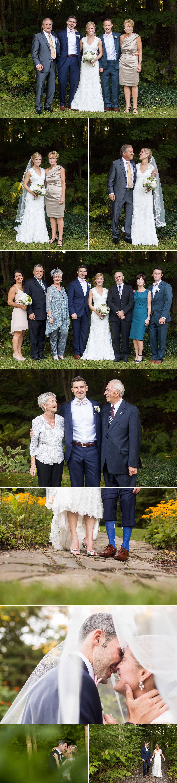 Cottage wedding portraits