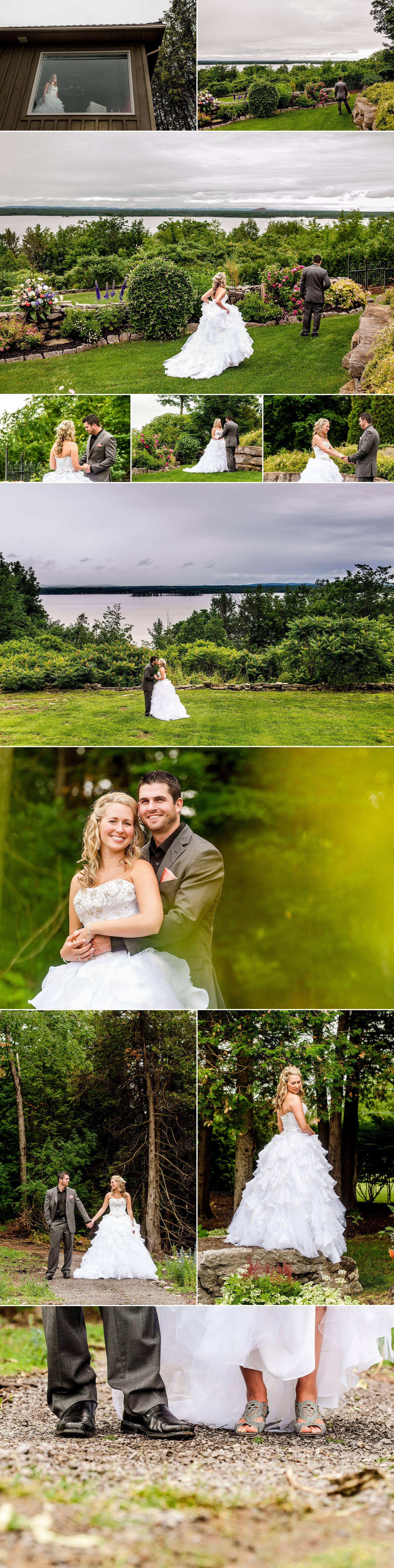 Nature wedding photographs