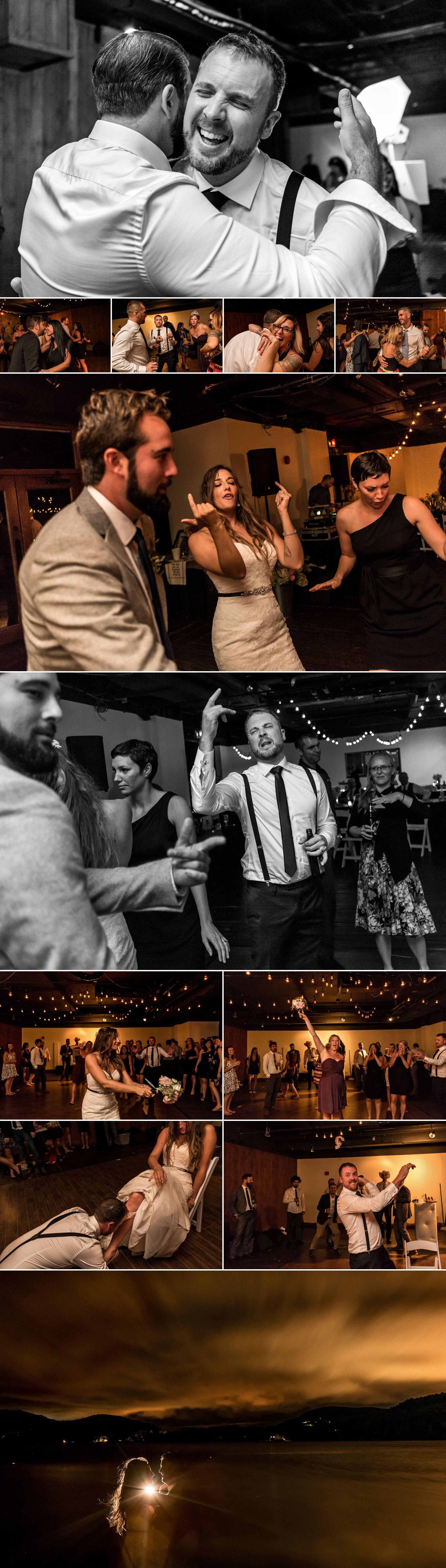 Wedding reception at le grand lodge, mont tremblant