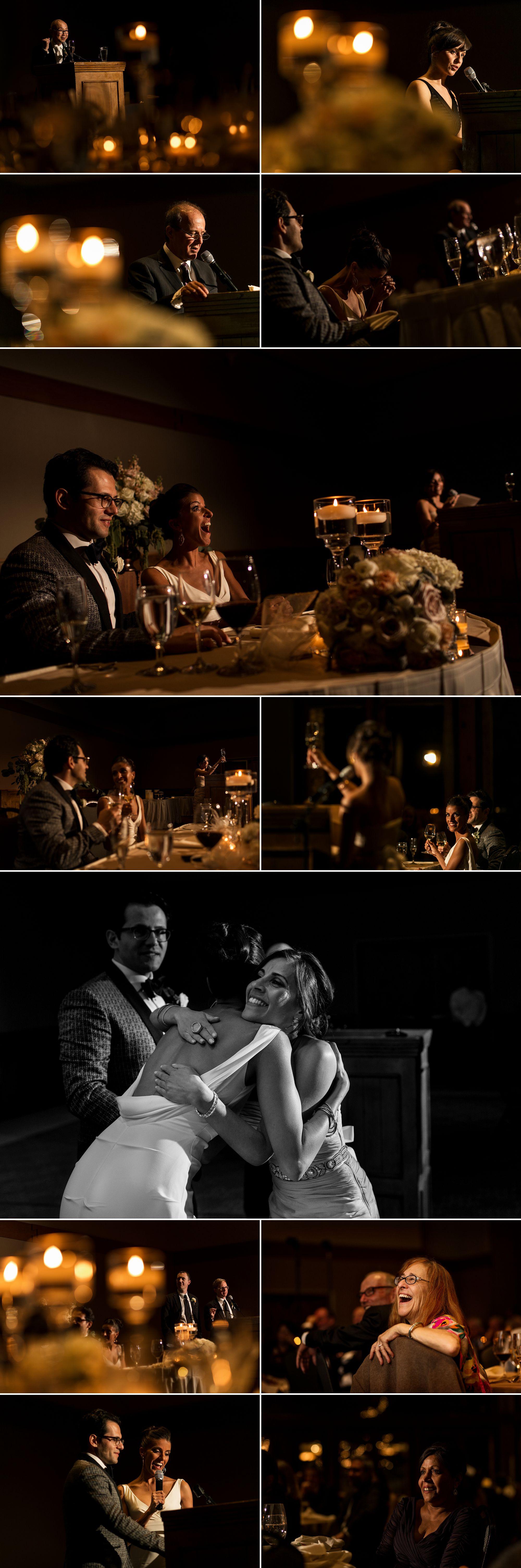 Wedding reception at the Enchantment Resort in Sedona Arizona