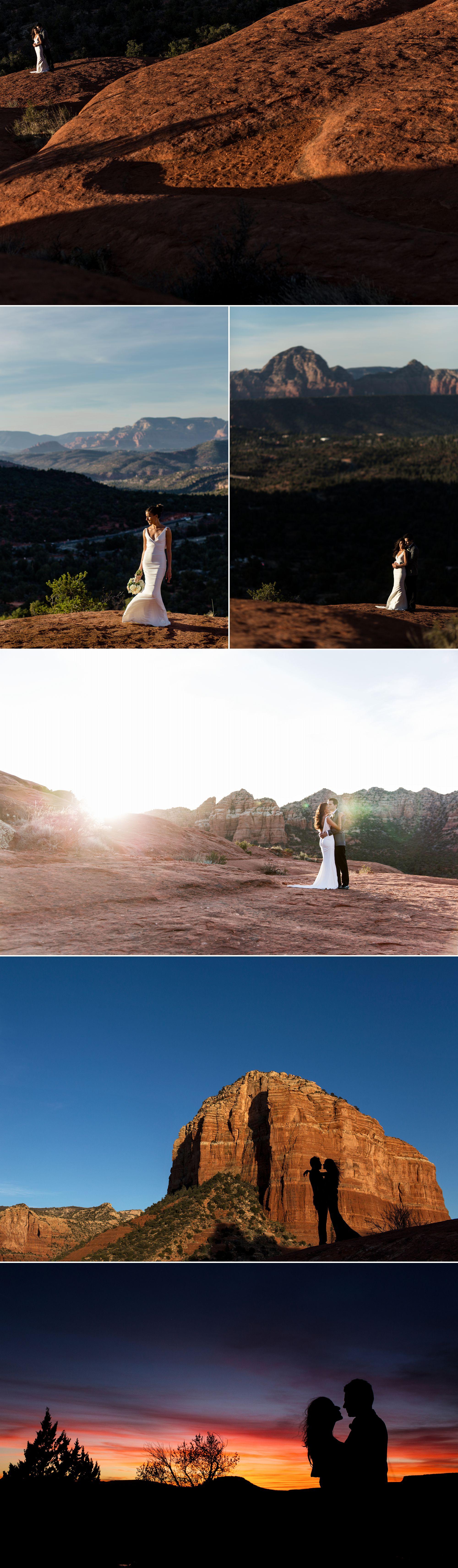 Wedding photographs in Sedona Arizona