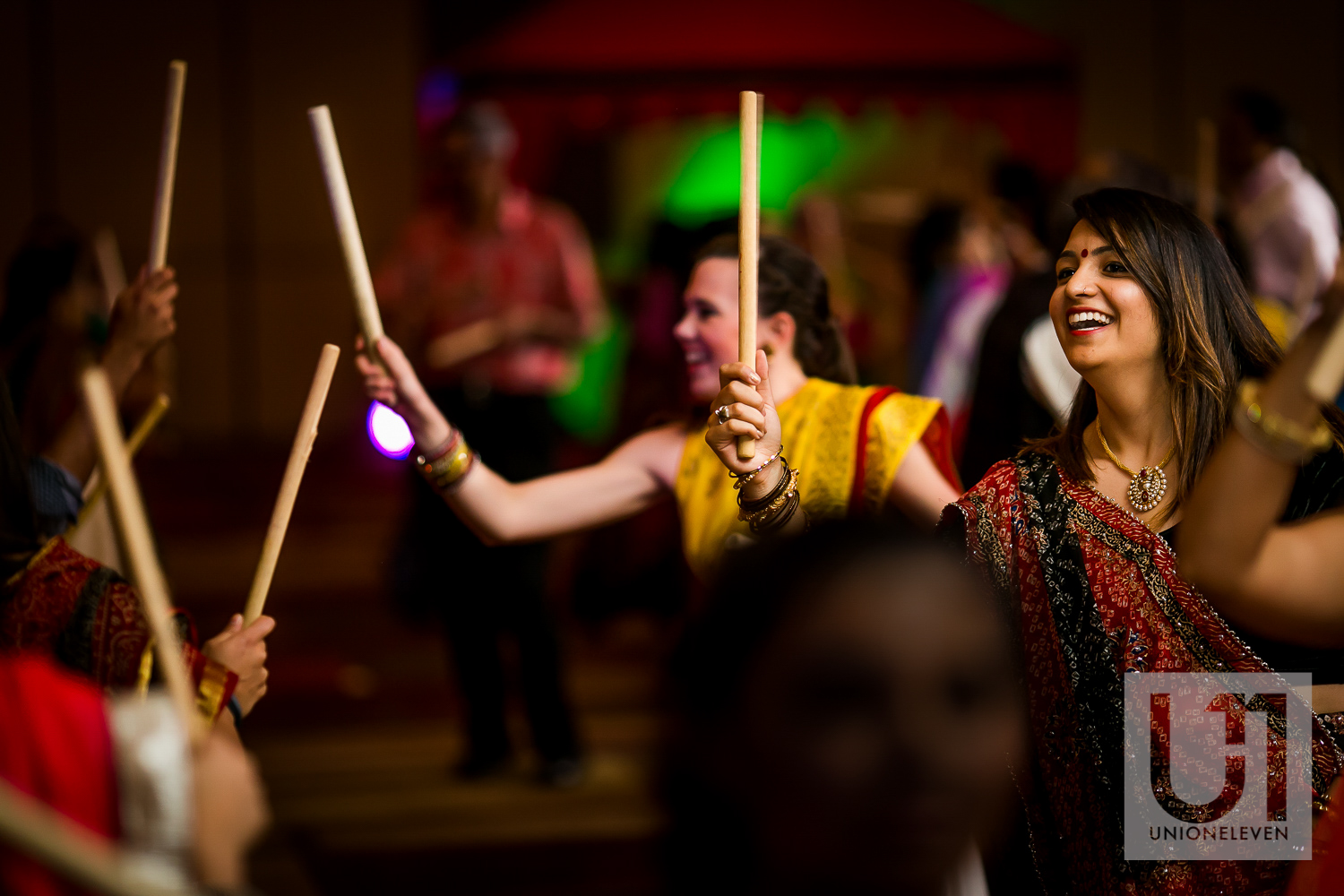 Raas dance at the westin hotel