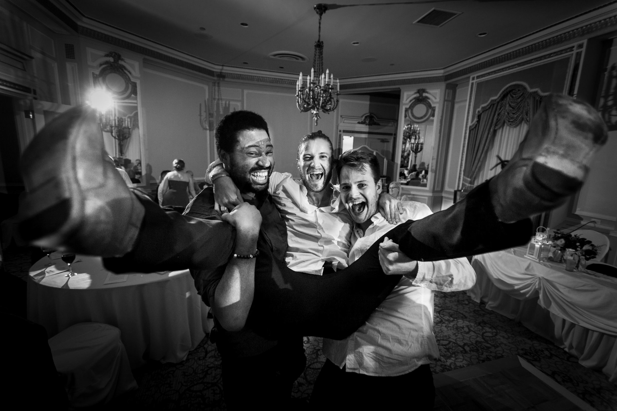 crazy dancing photo at an ottawa wedding
