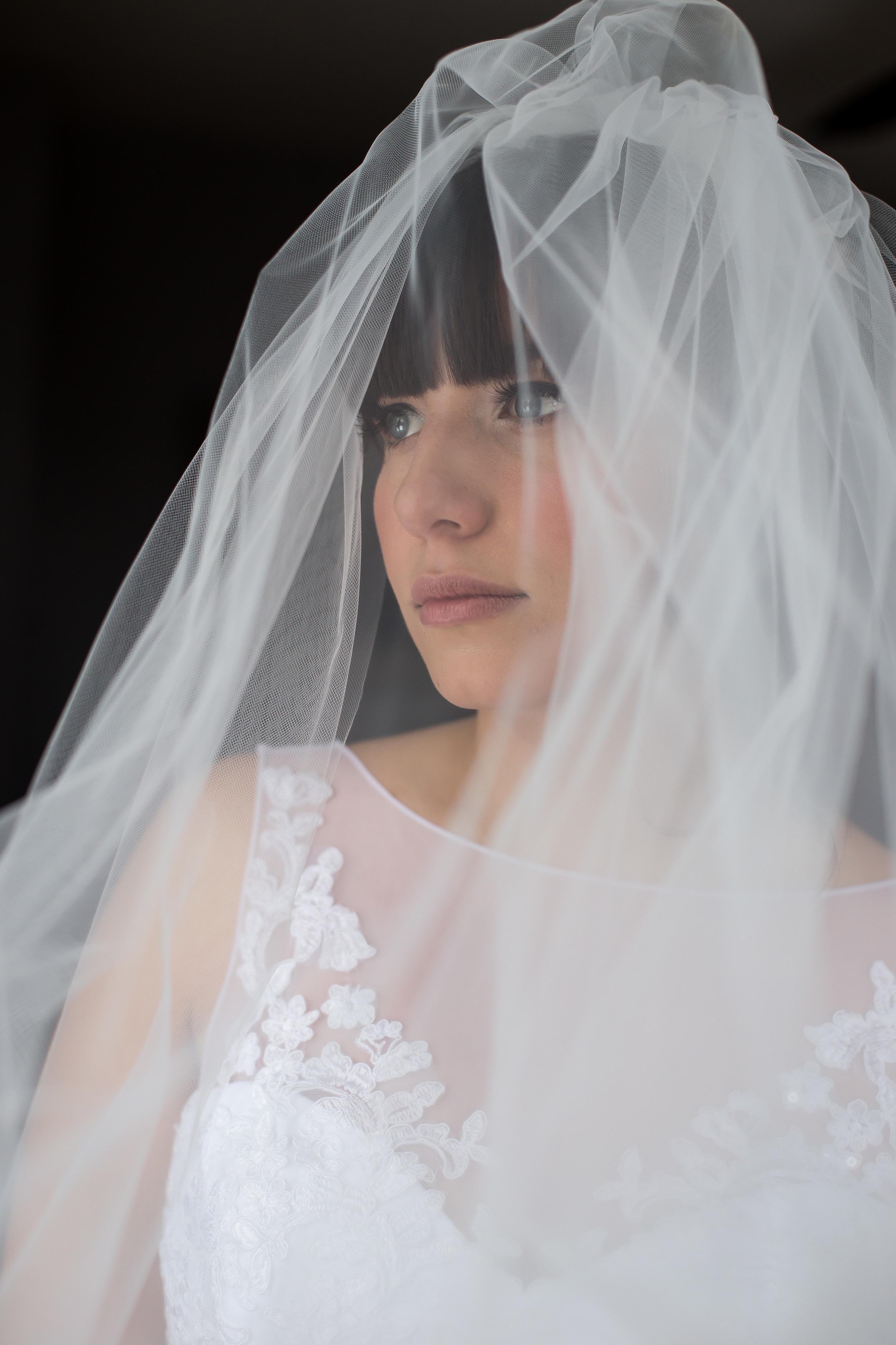 A portrait of the Bride