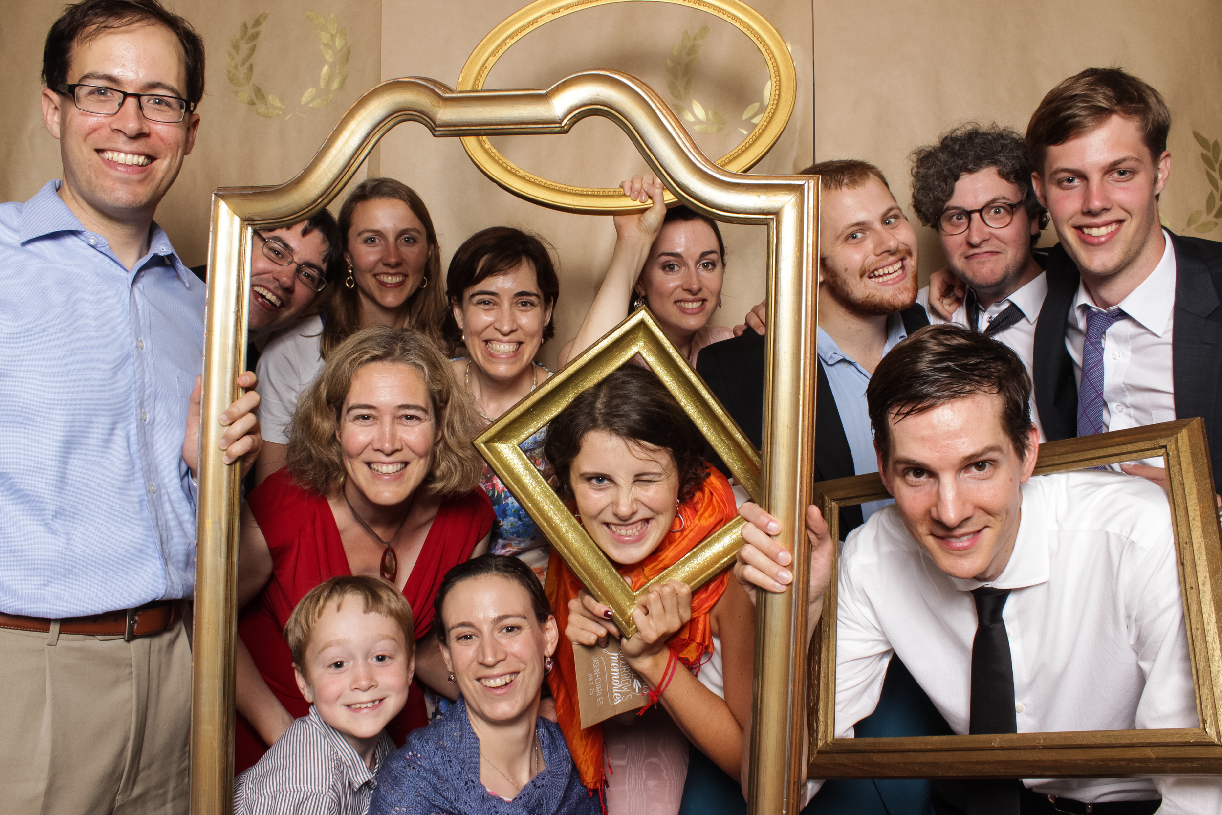ottawa photo booth photograph from a wedding