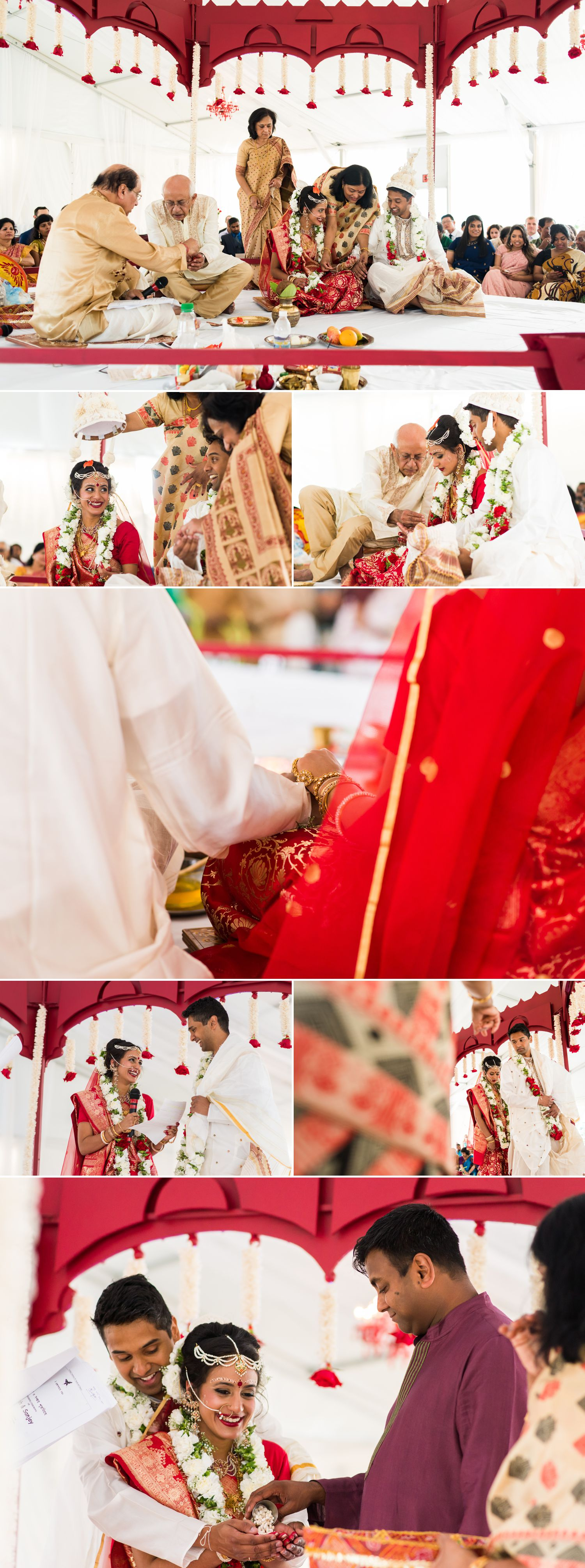 A traditional outdoor Indian wedding at the Brookstreet Hotel & Resort in Kanata