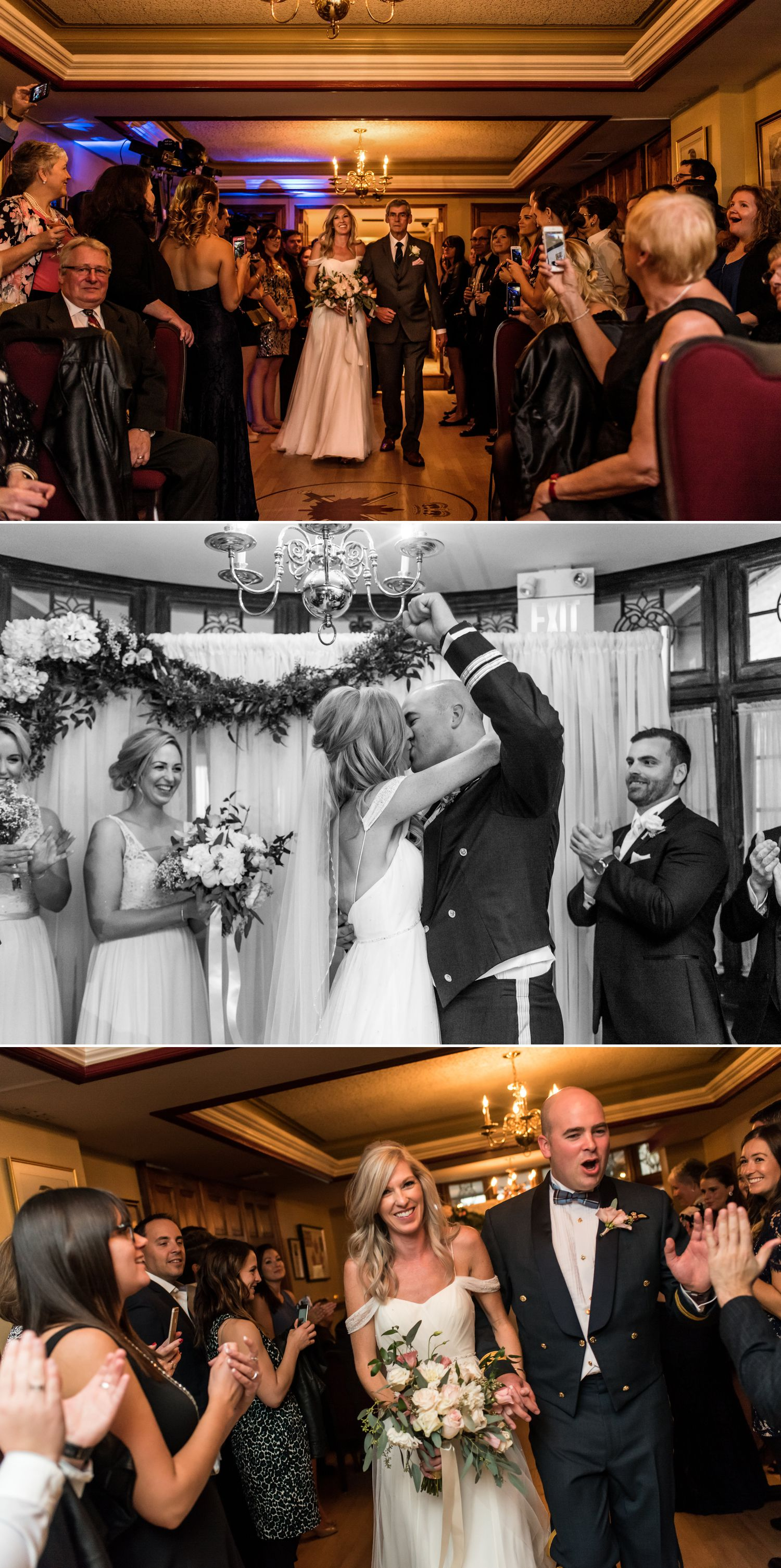 candid moments at an army mess wedding in ottawa ontario