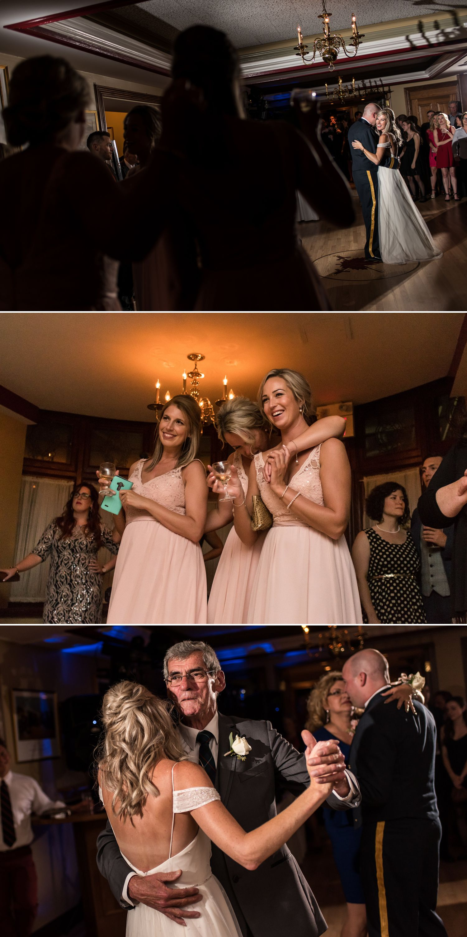 dance floor moments at an army mess wedding in ottawa ontario