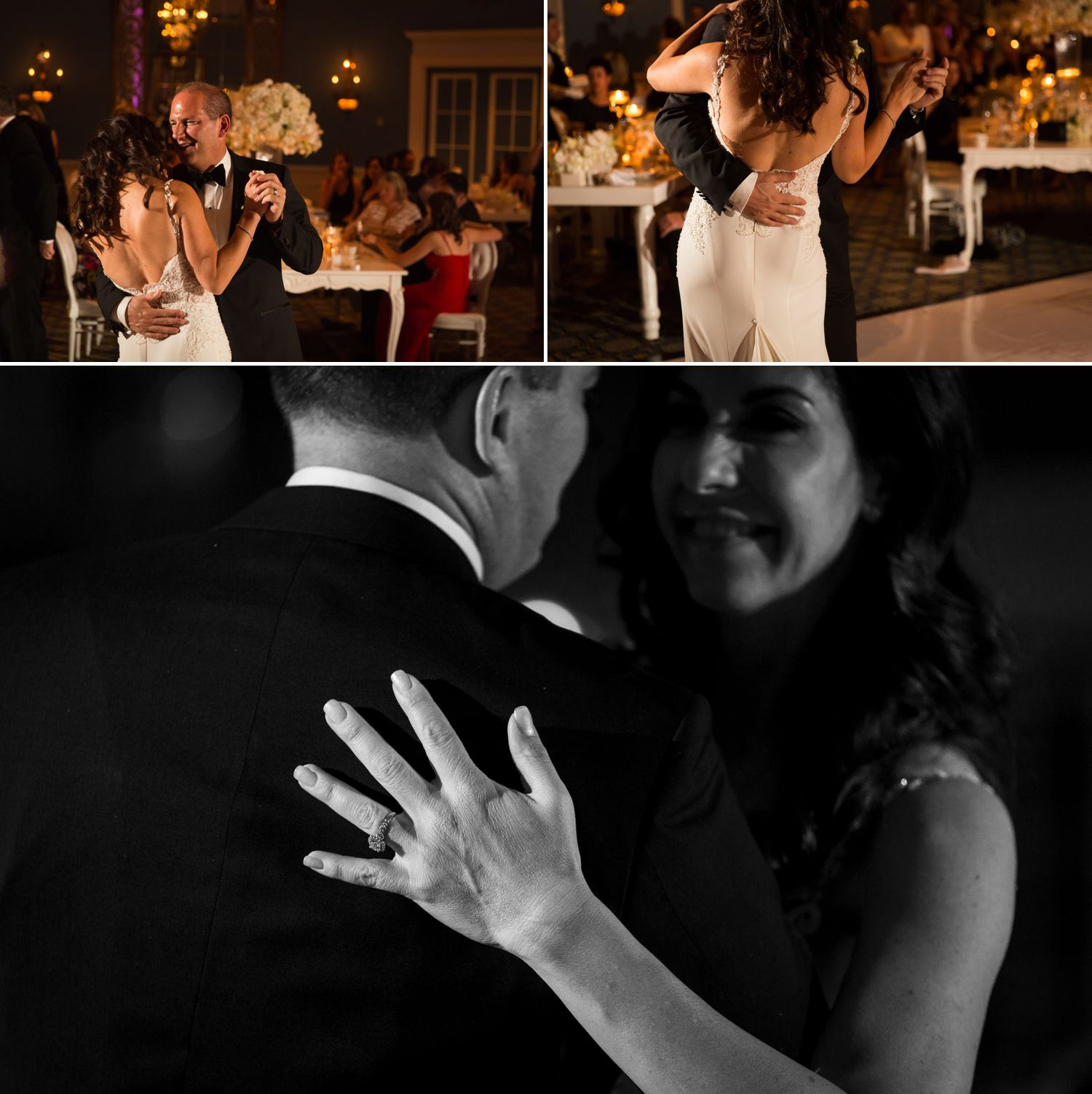 First dance in the Adam room of the le chateau laurier