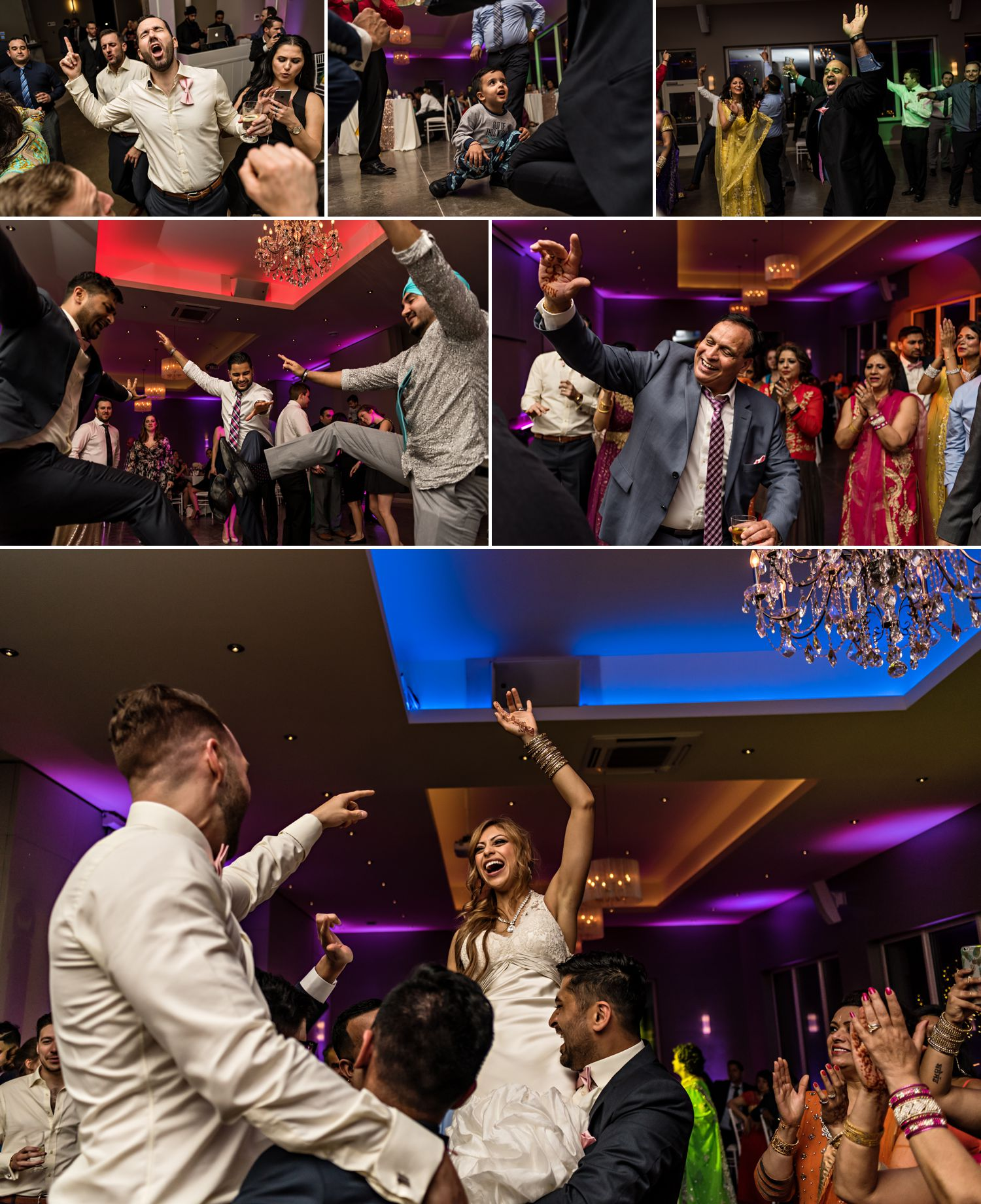 candid dancing moments during a wedding at le belvedere wedding in wakefield quebec