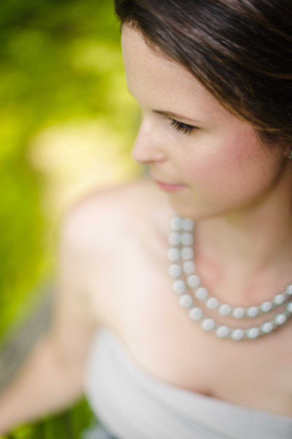 bridal portrait at le belvedere