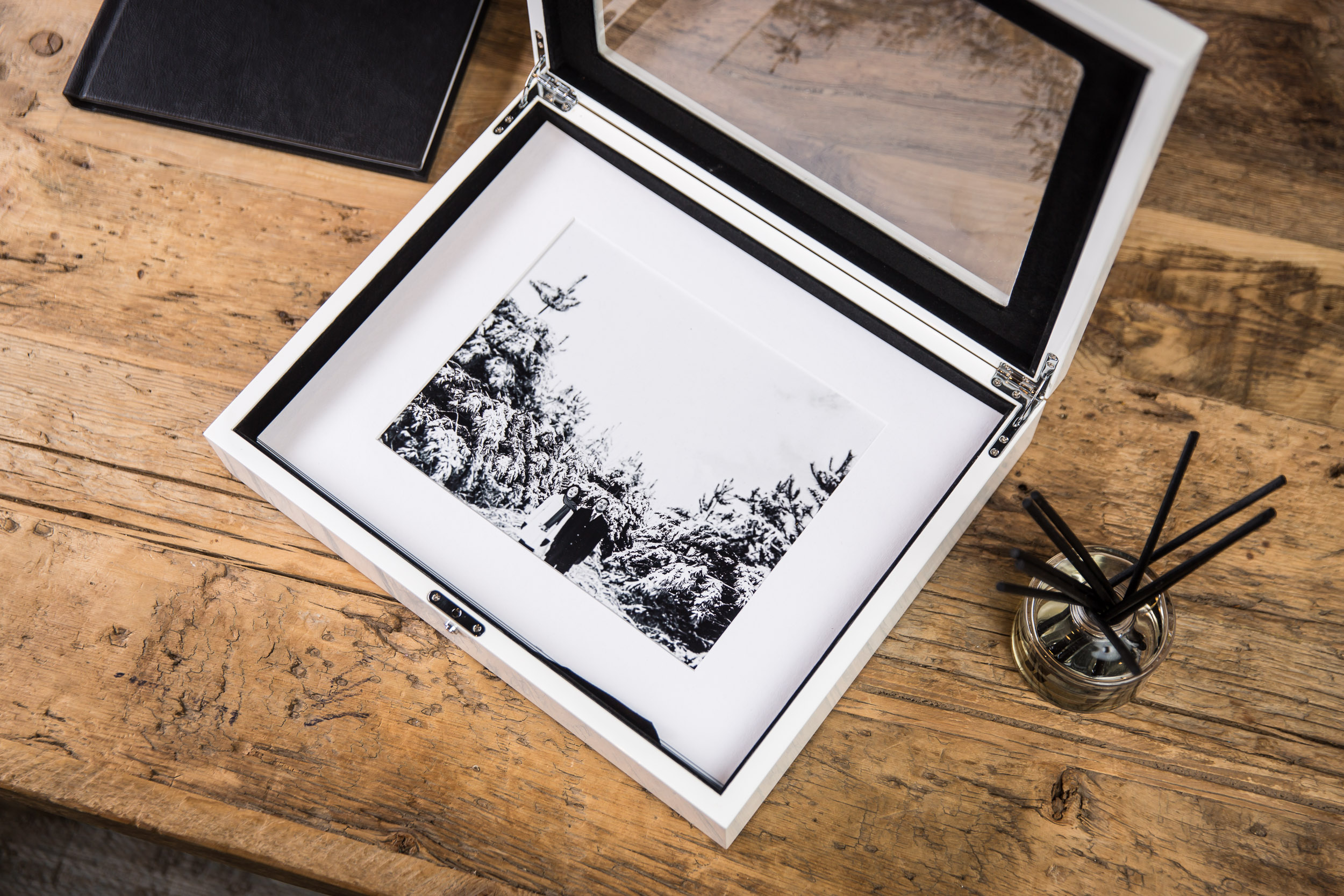 - Portrait Box's are a perfect way to enjoy your favourite photographs that aren't being displayed as Wall Art.