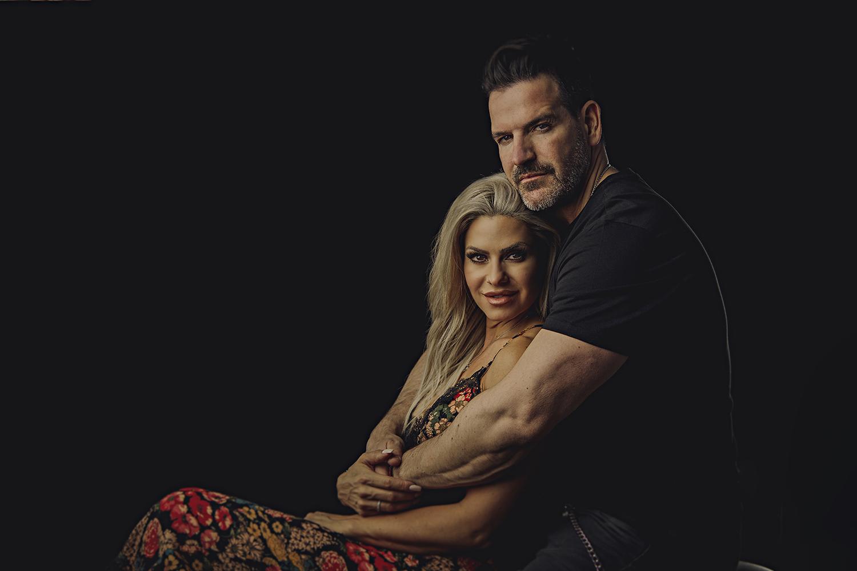 couples studio portrait in ottawa ontario